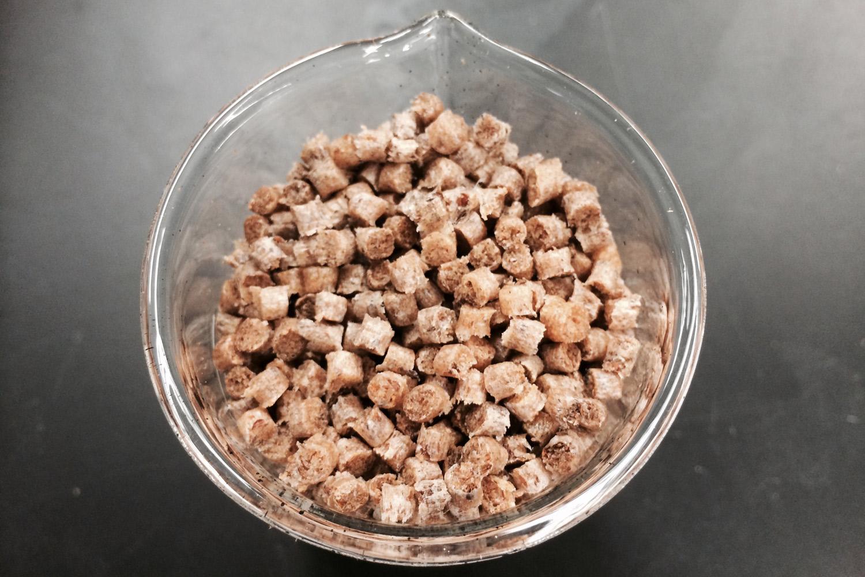 Tomato fiber pellets