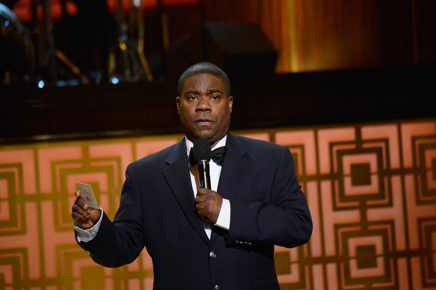 Tracy Morgan speaks onstage at Spike TV's  Don Rickles: One Night Only  on May 6, 2014 in New York.