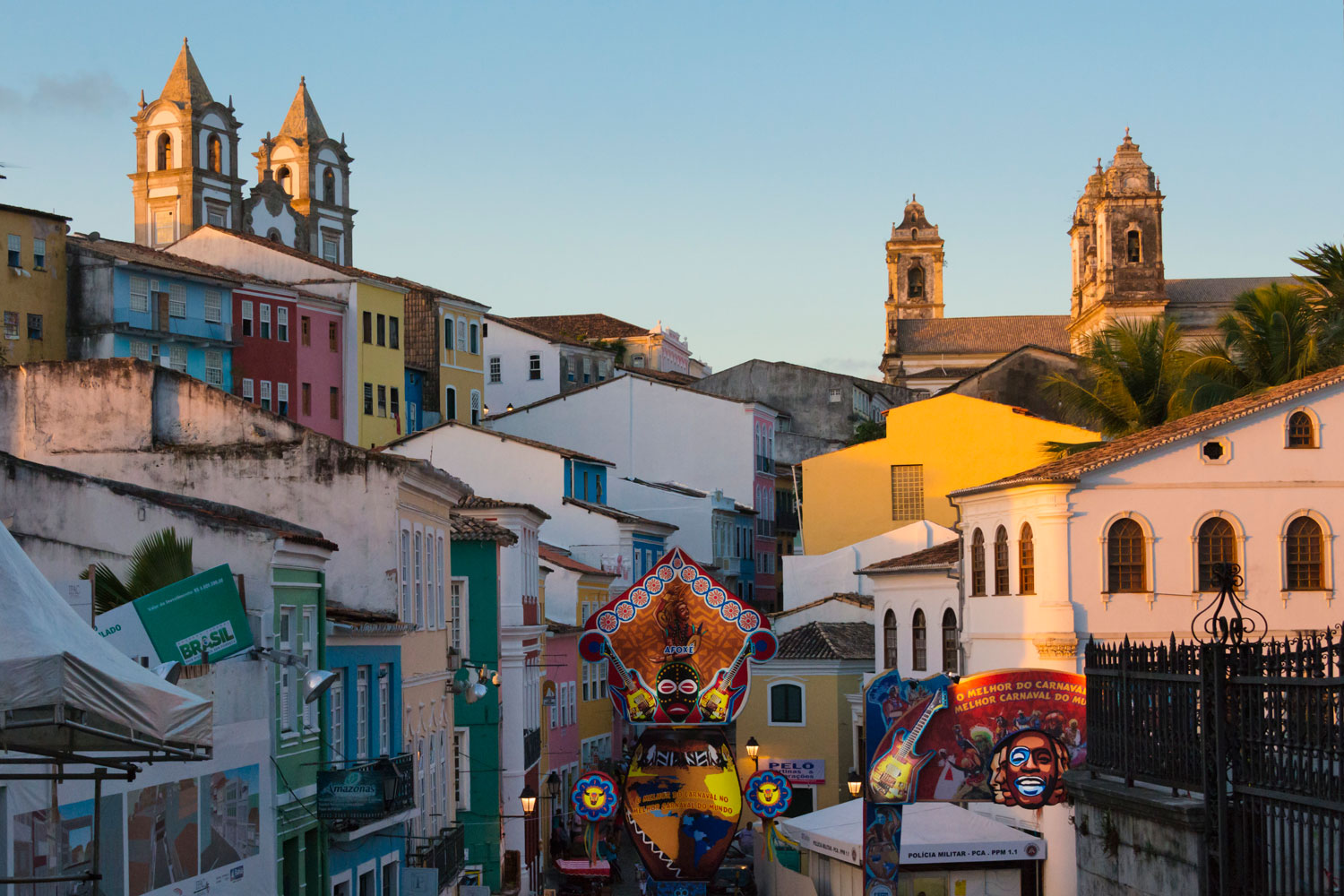 Bahia was once Brazil's capital but is now known more for its vibrant African-influenced music scene, 31 miles of beaches, and local street carnival that garners some 2 million visitors.