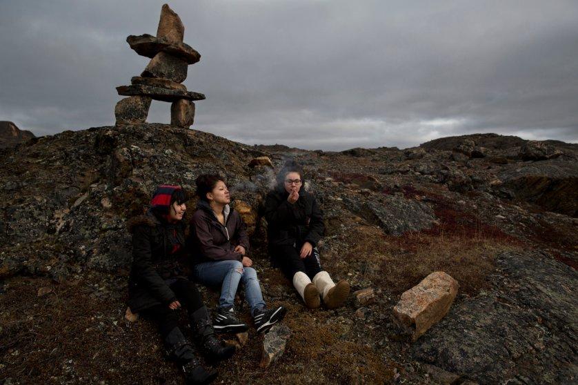 Inuit Life in Nunavut Canada