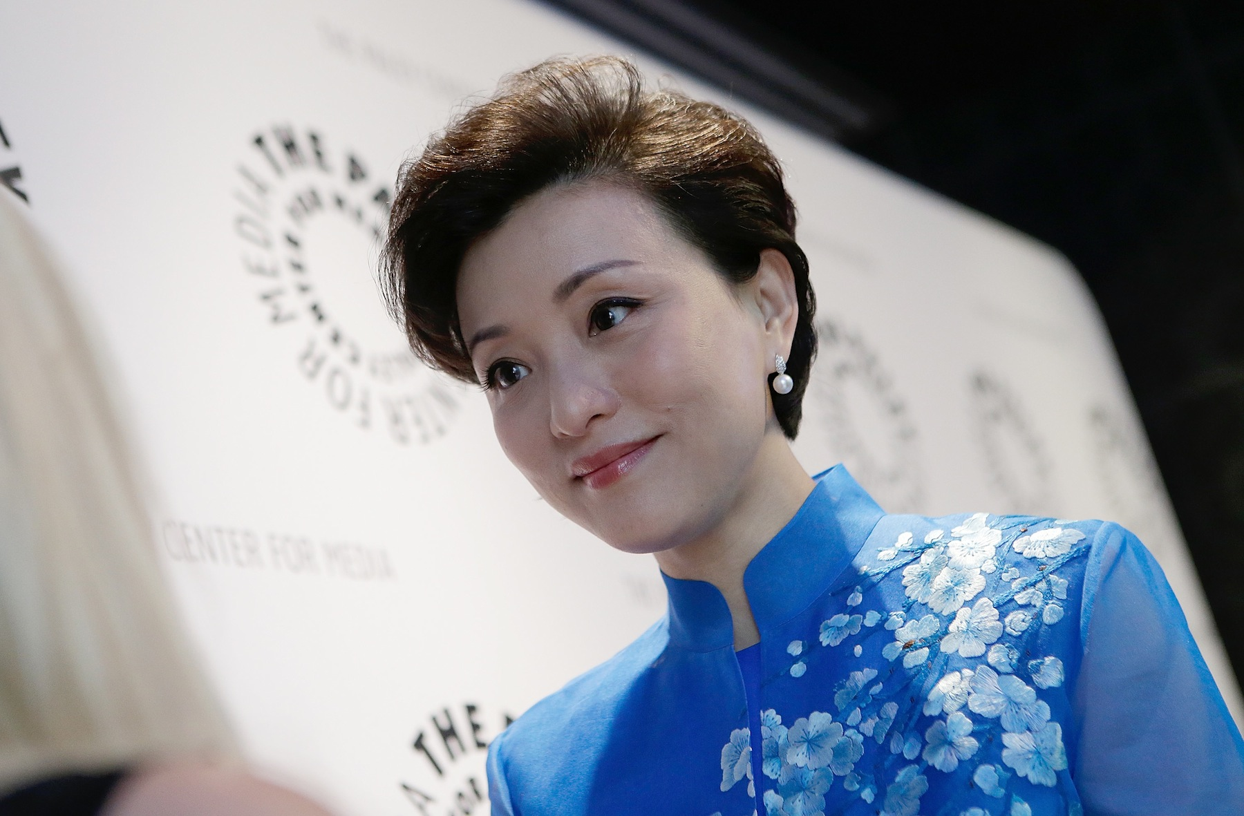 Yang Lan at a benefit on May 15, 2013, in New York City.