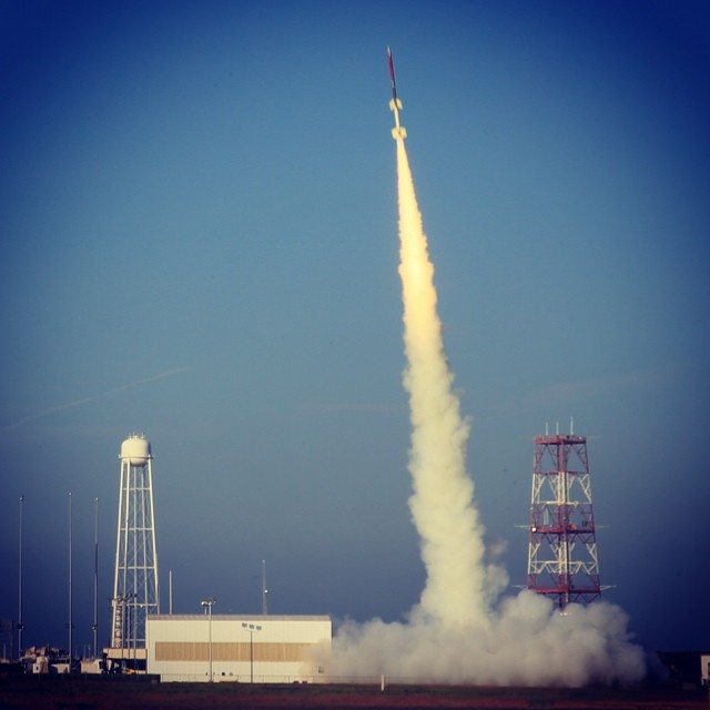 Jun. 26, 2014. RockOn Sounding Rocket Launches Successfully -- The RockOn Terrier-Improved Orion sounding rocket containing multiple student-built experiments launched successfully at 7:21 a.m. EDT on June 26, 2014 from NASA's Wallops Flight Facility in Virginia.