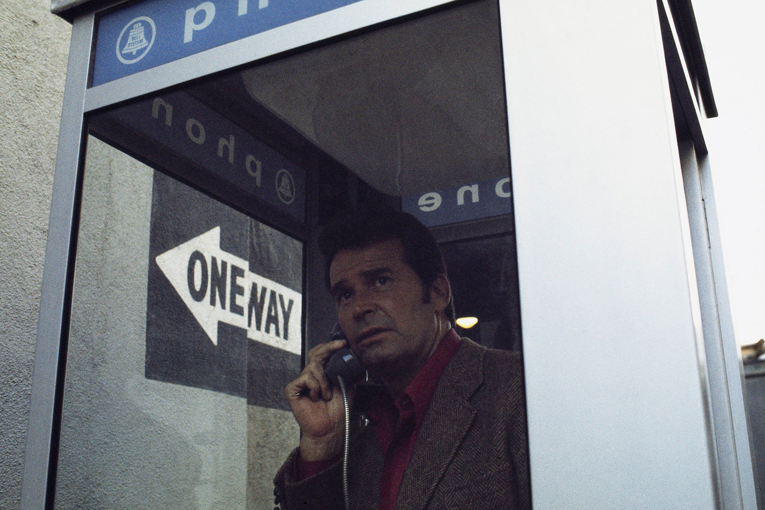 As Jim Rockford in the series The Rockford Files.
