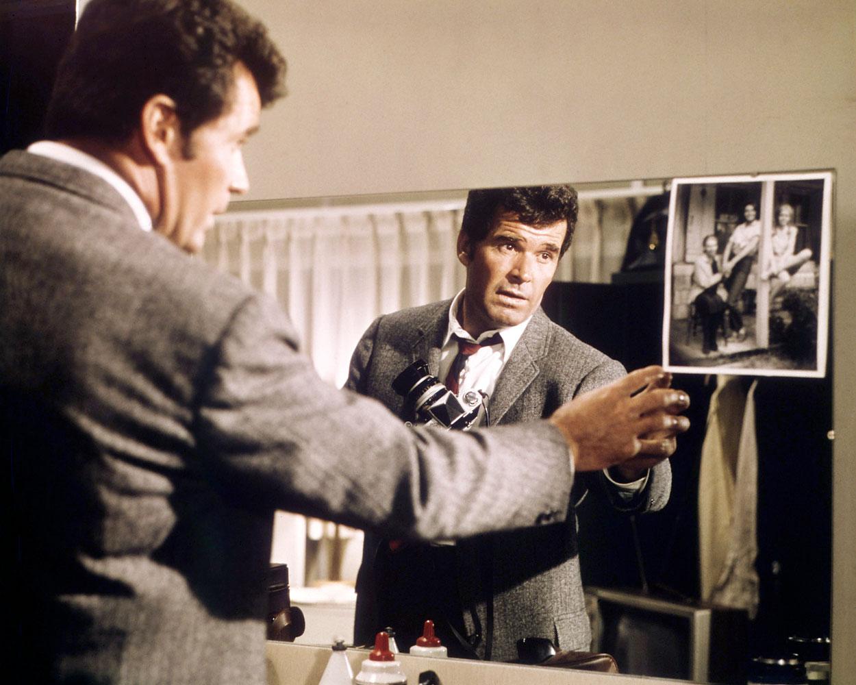 Garner as detective Philip Marlowe, in Marlowe, directed by Paul Bogart, 1969.