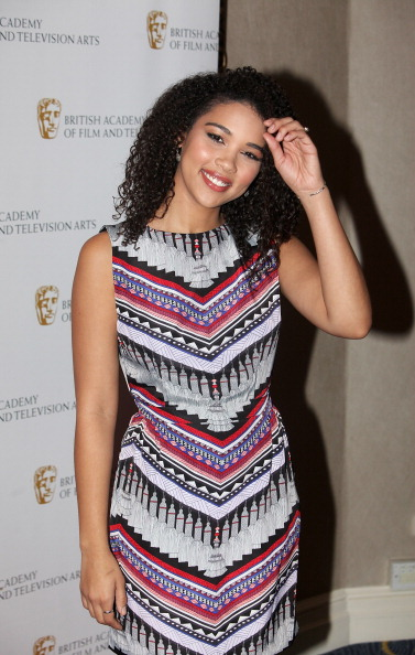 Alexandra Shipp arrives at the British Academy Children's Awards at the London Hilton on November 25, 2012 in London, England.