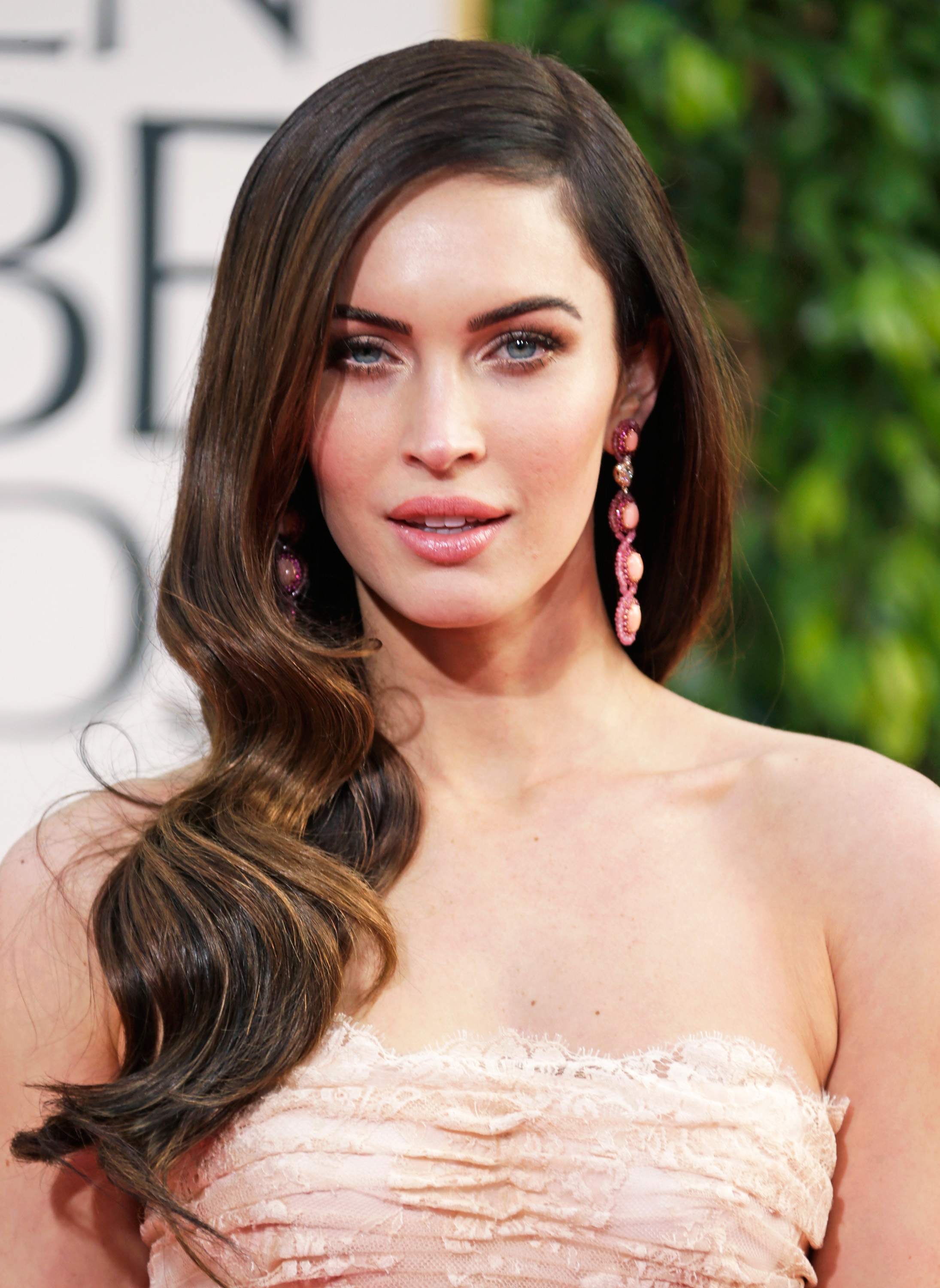 Actress Megan Fox arrives at the 70th Annual Golden Globe Awards held at The Beverly Hilton Hotel on January 13, 2013 in Beverly Hills, California.  (Jeff Vespa--WireImage)