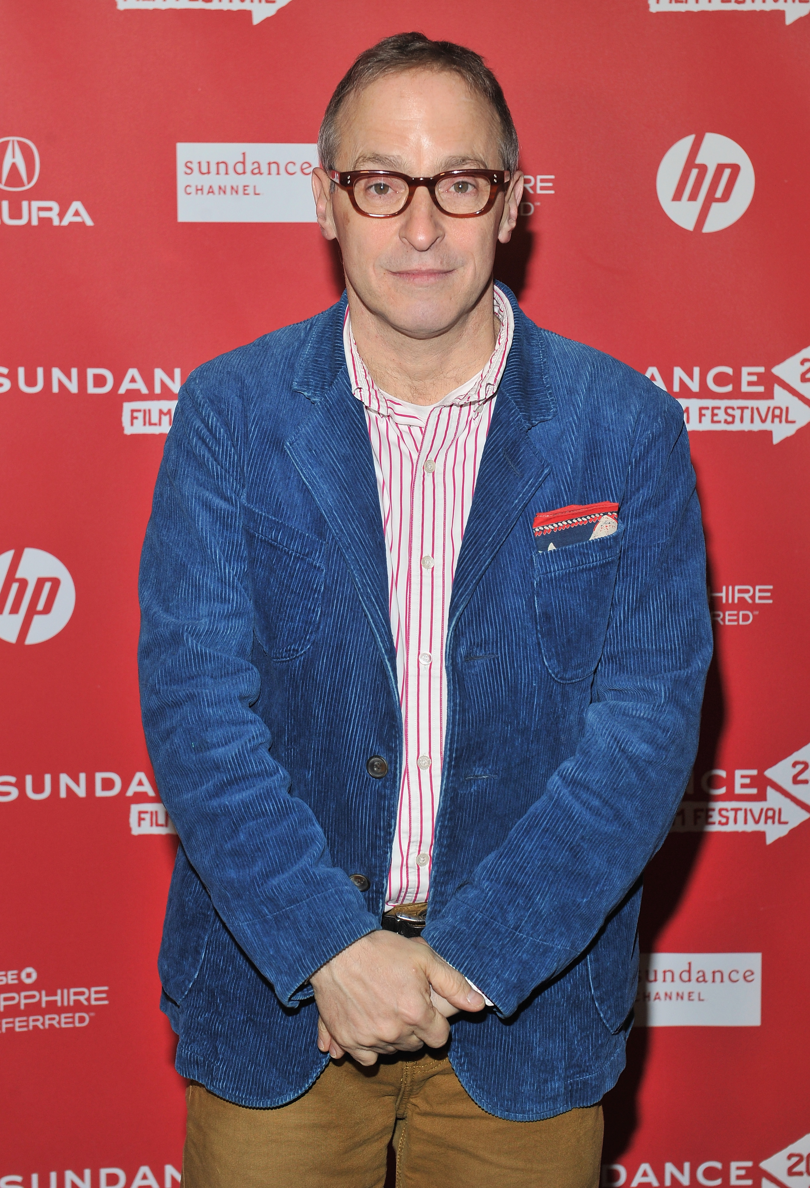 David Sedaris attends a premiere at Library Center Theater during the 2013 Sundance Film Festival in Park City, Utah, on Jan. 20, 2013
