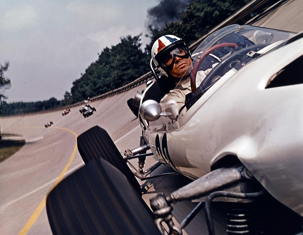 A scene from the film 1966 film Grand Prix.