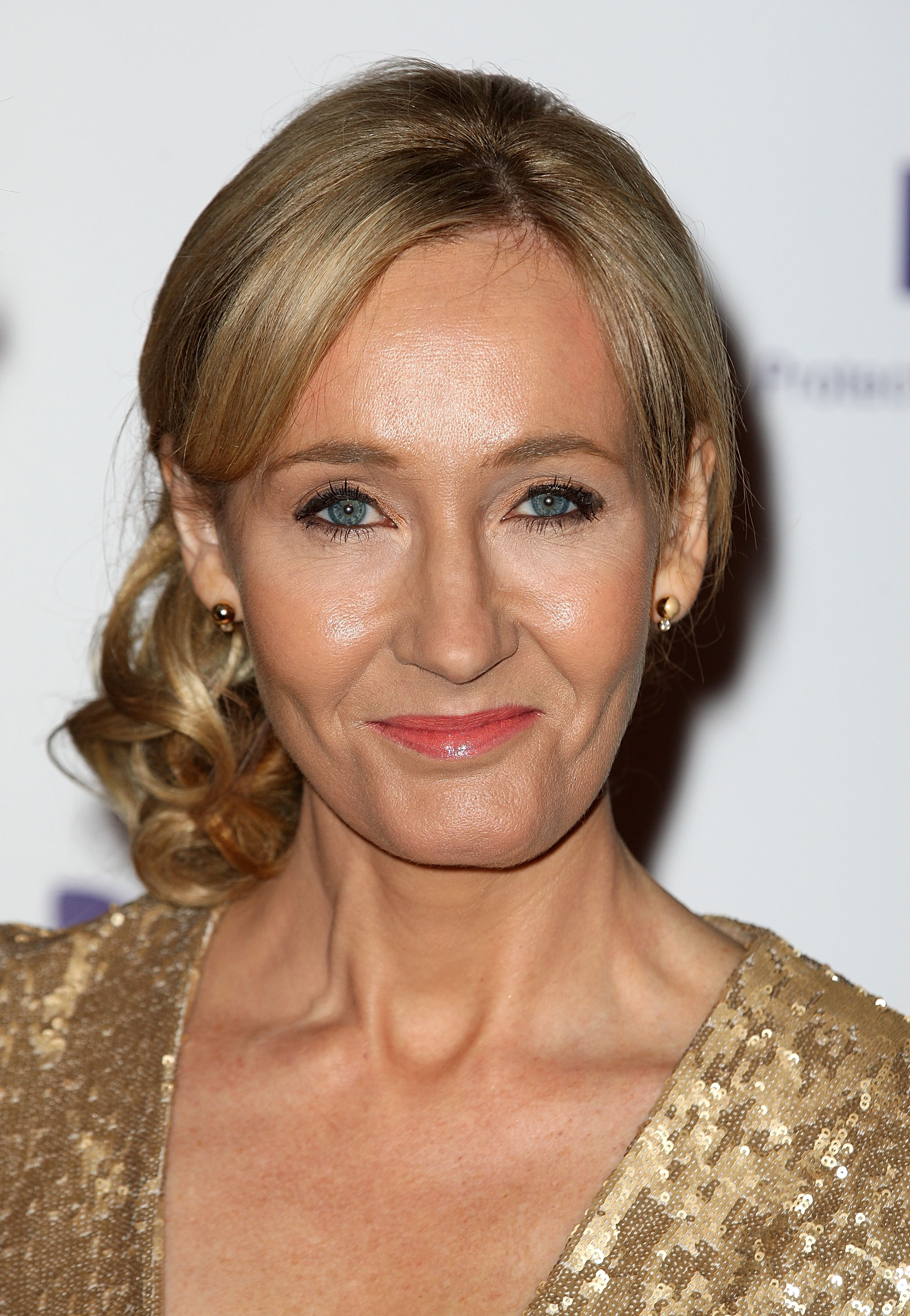 J.K. Rowling at a charity event at Warner Bros Studios in London in 2013.