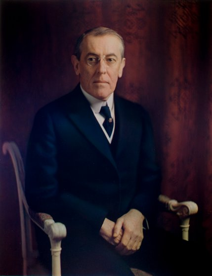 Woodrow Wilson, 1915,