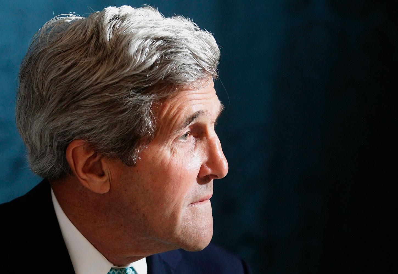 U.S. Secretary of State John Kerry in Vienna, July 13, 2014.