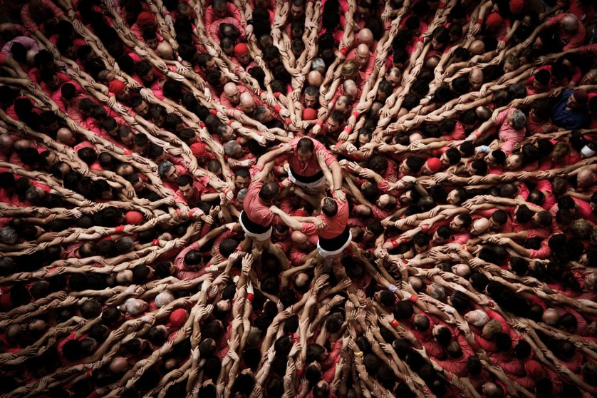 "CATALONIA'S TRADITION OF CONSTRUCTING HUMAN ""CASTELLS"""