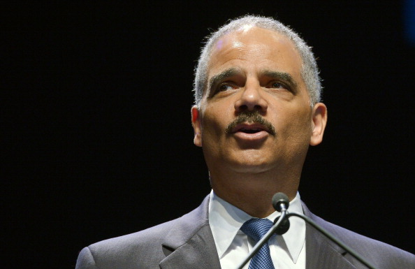 U.S. Attorney General Eric Holder speaks during an event to celebrate the 50th anniversary of the Civil Rights Act at Howard University in Washington on July 15, 2014