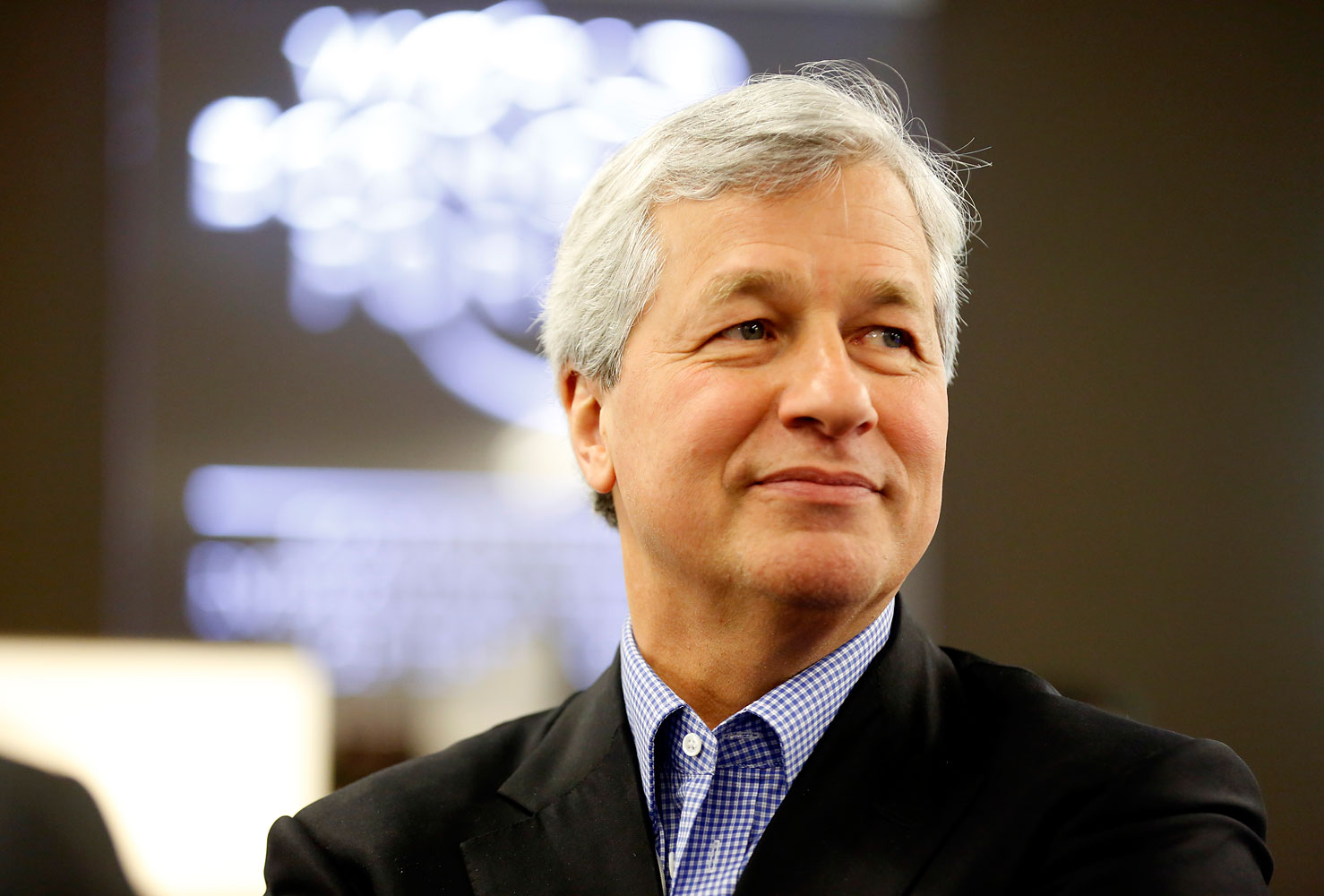 James  Jamie  Dimon, CEO of JPMorgan Chase & Co., at the World Economic Forum in Davos, Switzerland, Jan. 22, 2014.