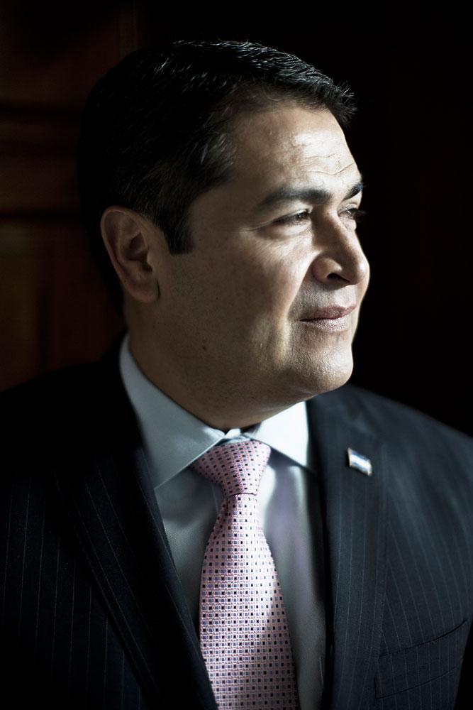 Honduran President Juan Orlando Hernández, Tegucigalpa, Honduras, July 17, 2014.