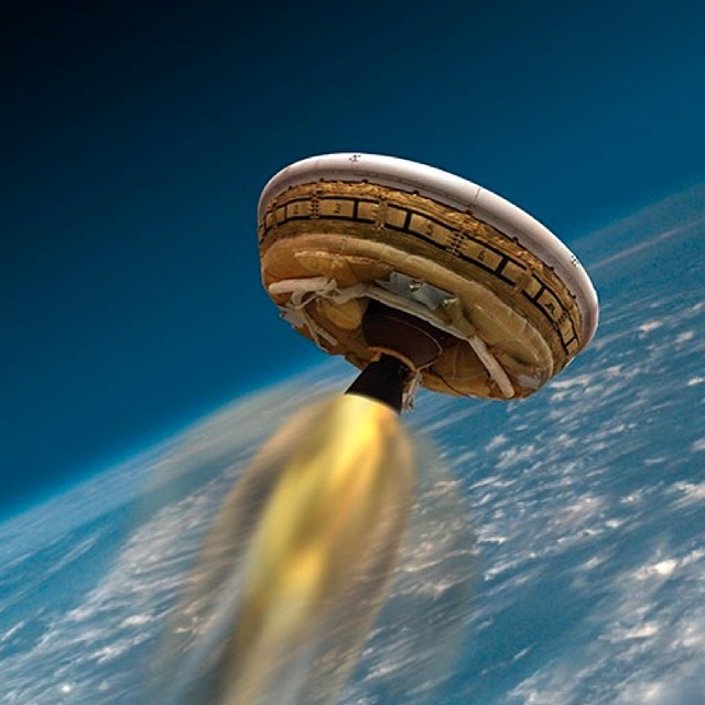 Jun. 2, 2014. Flying Saucers, Supersonic Parachutes & Rockets, oh my! This week, NASA's Low-Density Supersonic Decelerator (LDSD) project will fly a rocket-powered, saucer-shaped test vehicle into near-space from the U.S. Navy's Pacific Missile Range Facility in Kauai, #Hawaii. This experimental flight test is designed to investigate breakthrough technologies to benefit future Mars missions, including those involving human exploration.