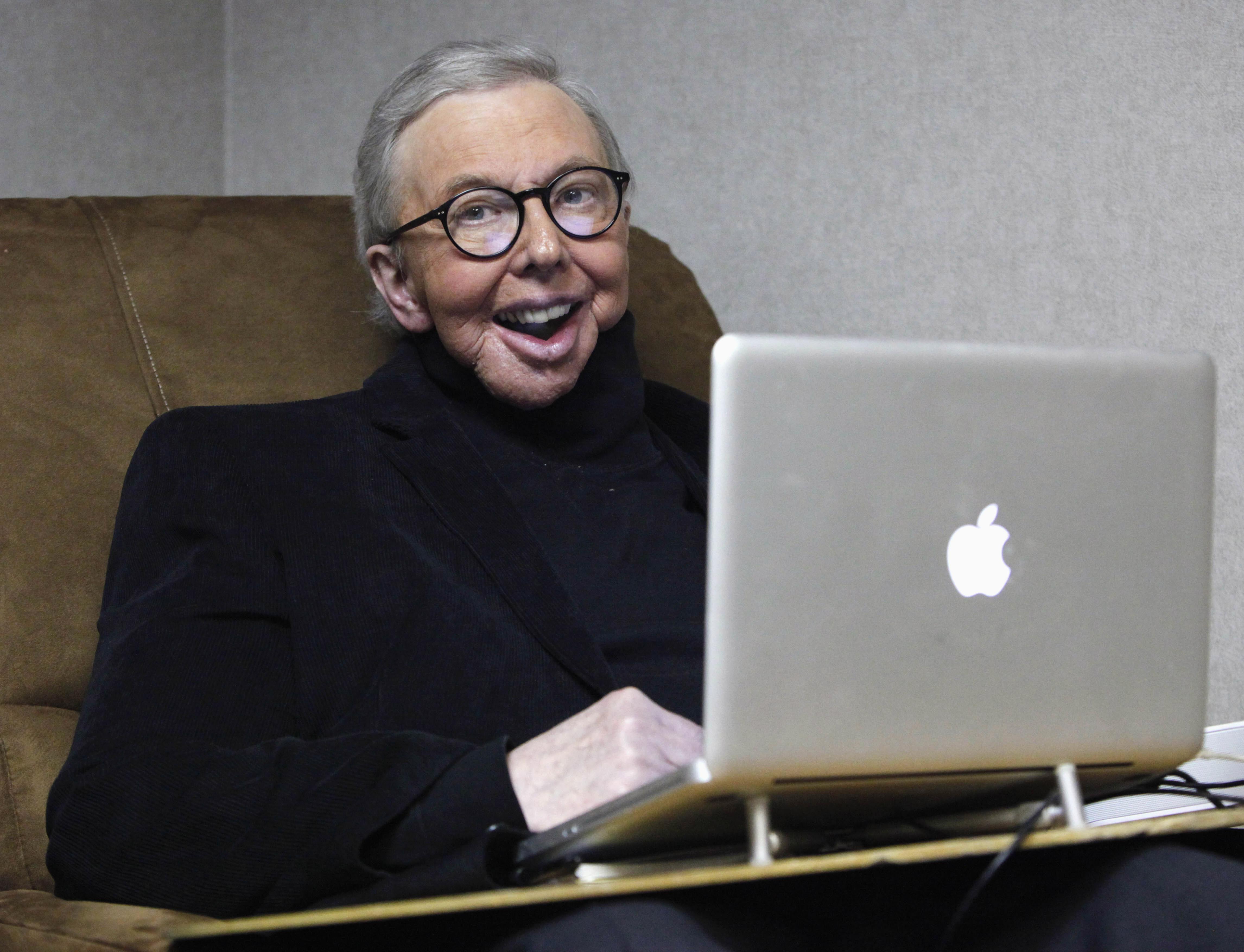 Roger Ebert in 2011.