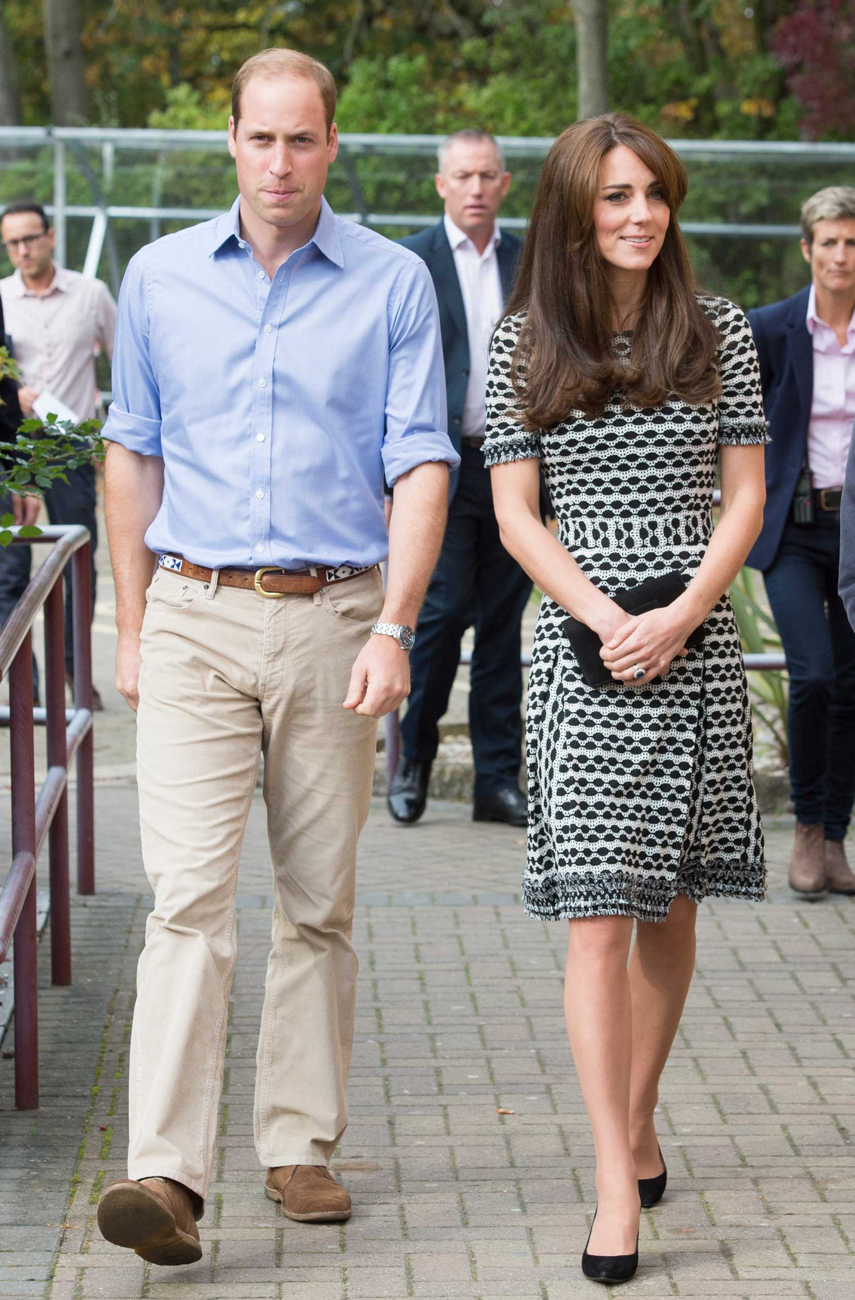 Royal visit to Harrow College, Oct. 10, 2015.