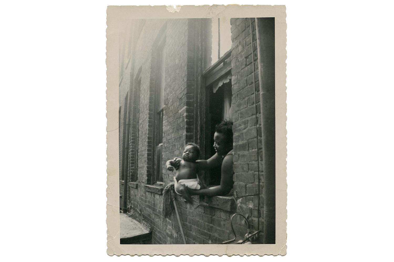 Catching Morning Rays, Brooklyn, c. 1953
