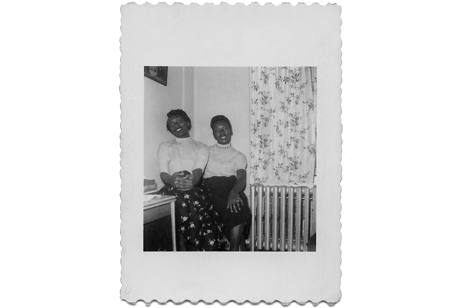Rosa Lee Outten and friend, c. 1951