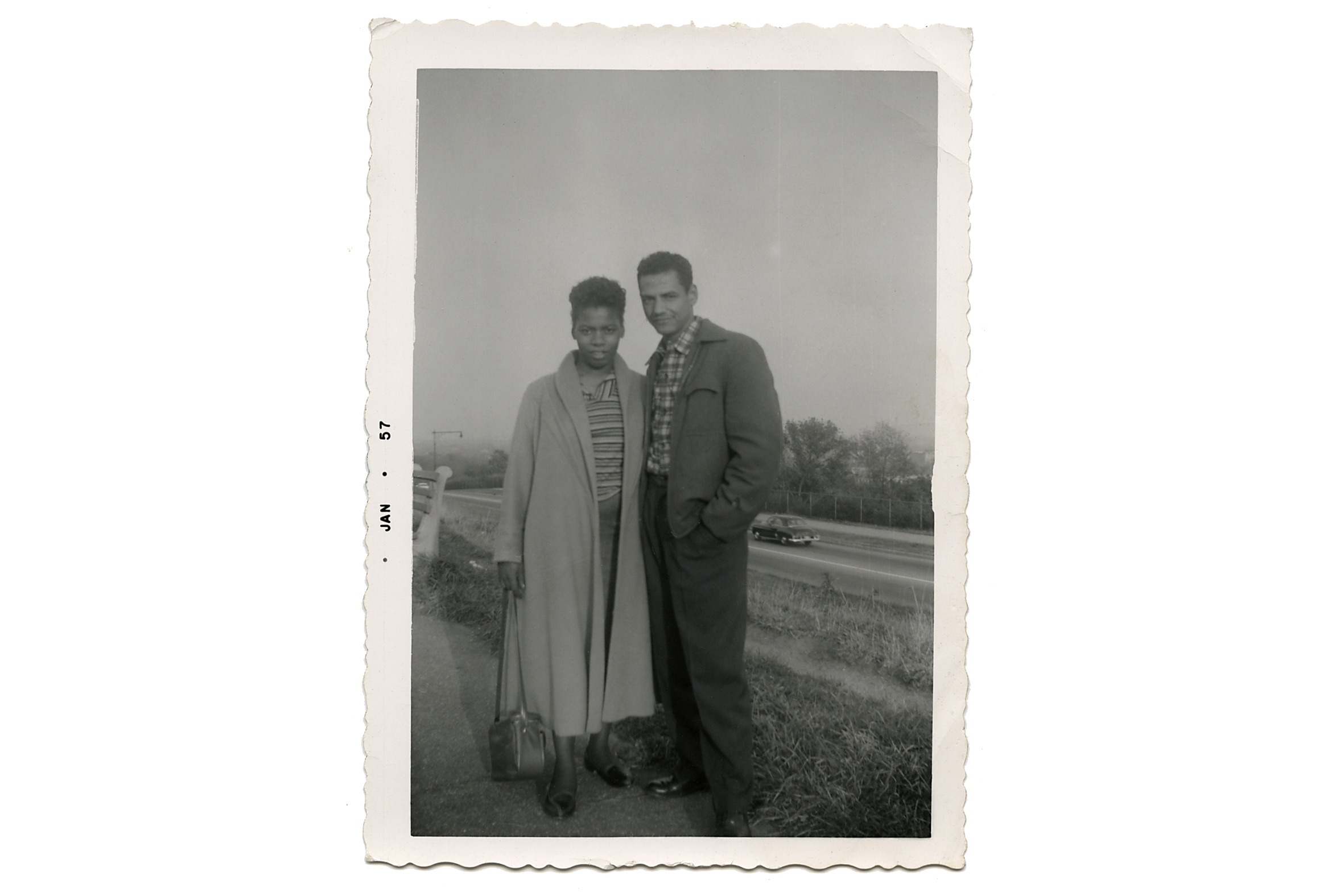 Mary E. Lemons and Garfield Lee, c. 1957