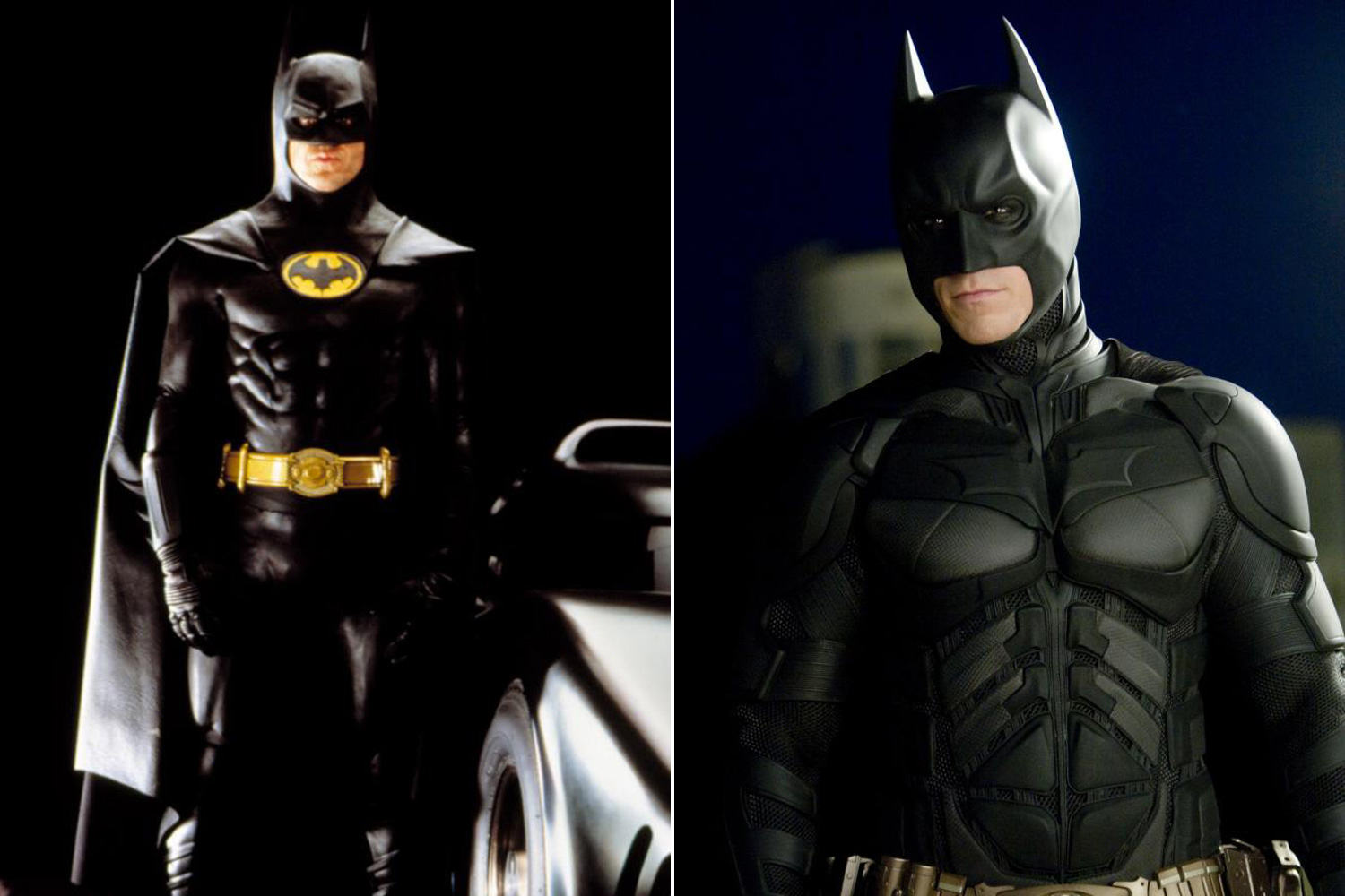 The Caped Crusader first hit the bigscreen in the 1989 Tim Burton Film, <i>Batman</i>, Starring Michael Keaton as the titular character. Batman would be rebooted by Christopher Nolan in the 2005 film <i>Batman Begins</i>, with Christian Bale playing the eccentric billionaire.