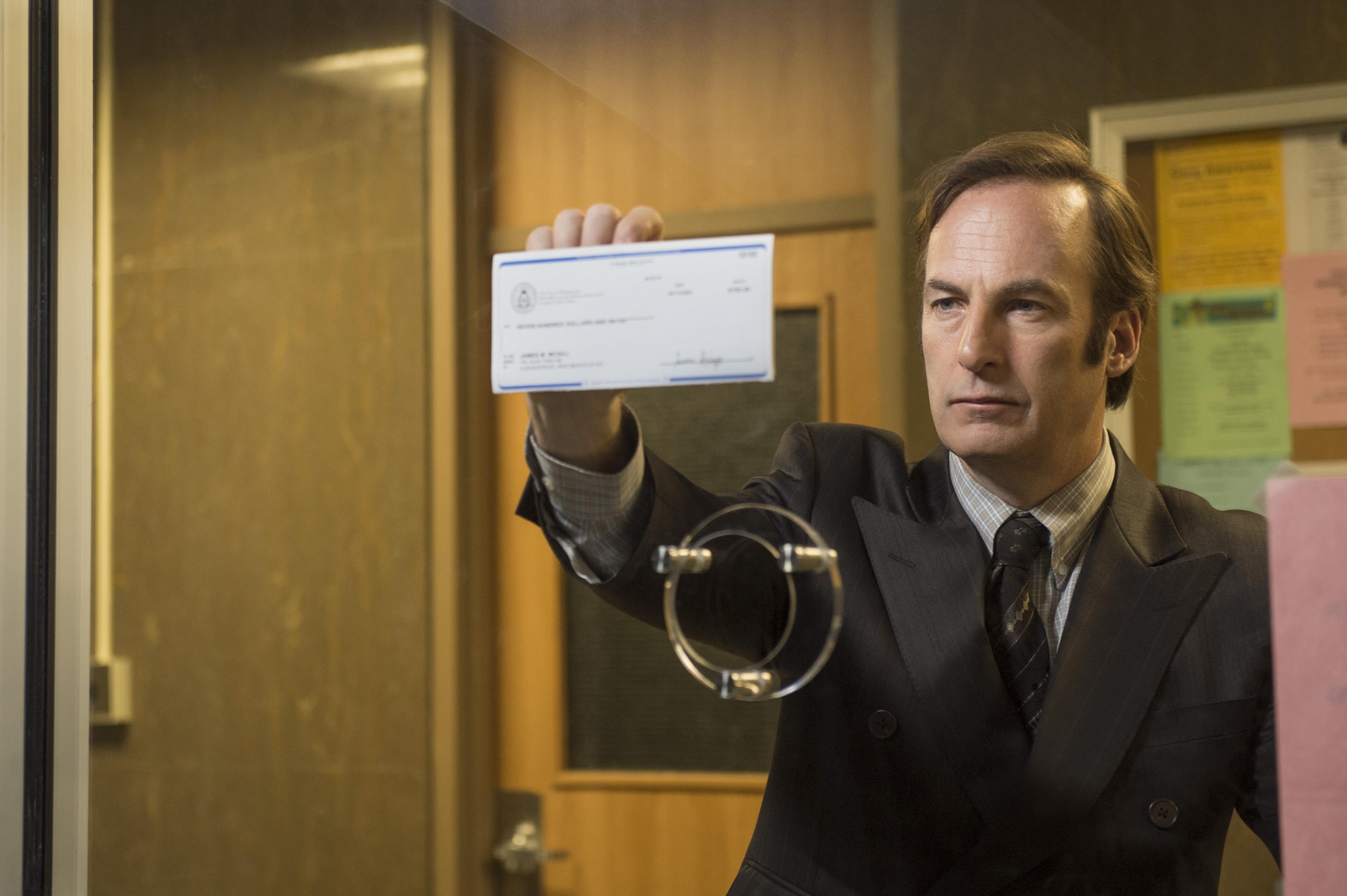 Bob Odenkirk as Saul Goodman