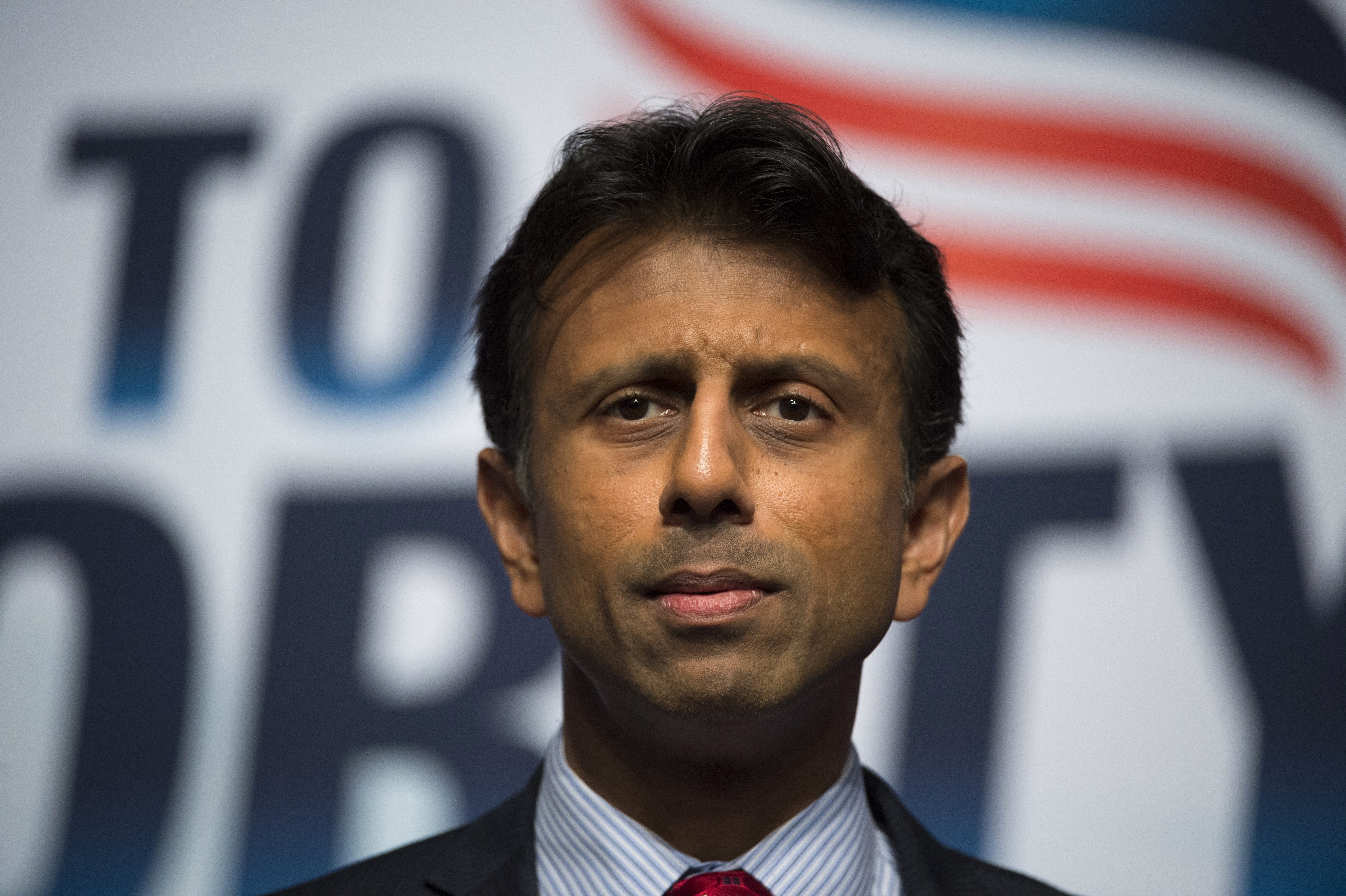 Louisiana Gov. Bobby Jindal delivers the keynote address during Faith and Freedom Coalition's Road to Majority event in Washington on June 21, 2014.