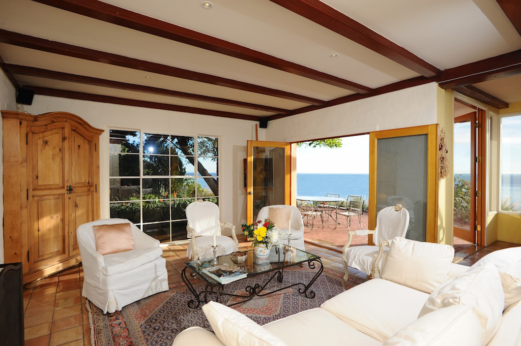 Denzel Washington and Jimmy Page have lived in this Malibu estate
