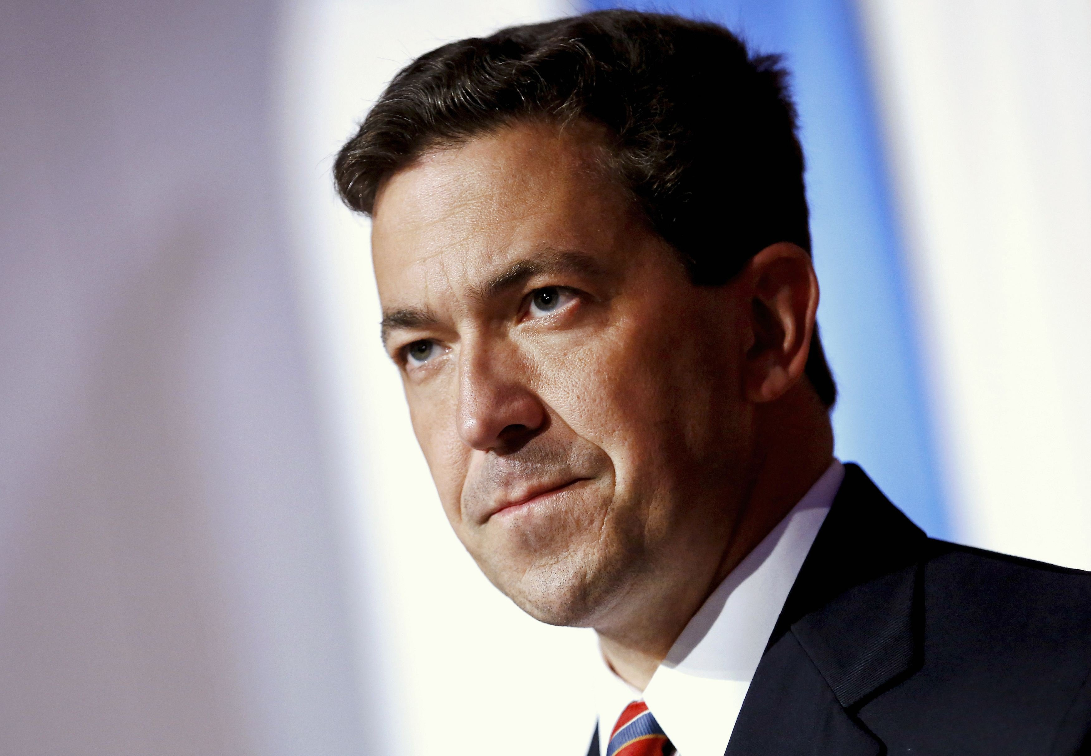 Tea Party candidate Chris McDaniel delivers a speech to supporters in Hattiesburg, Miss. on June 24, 2014.
