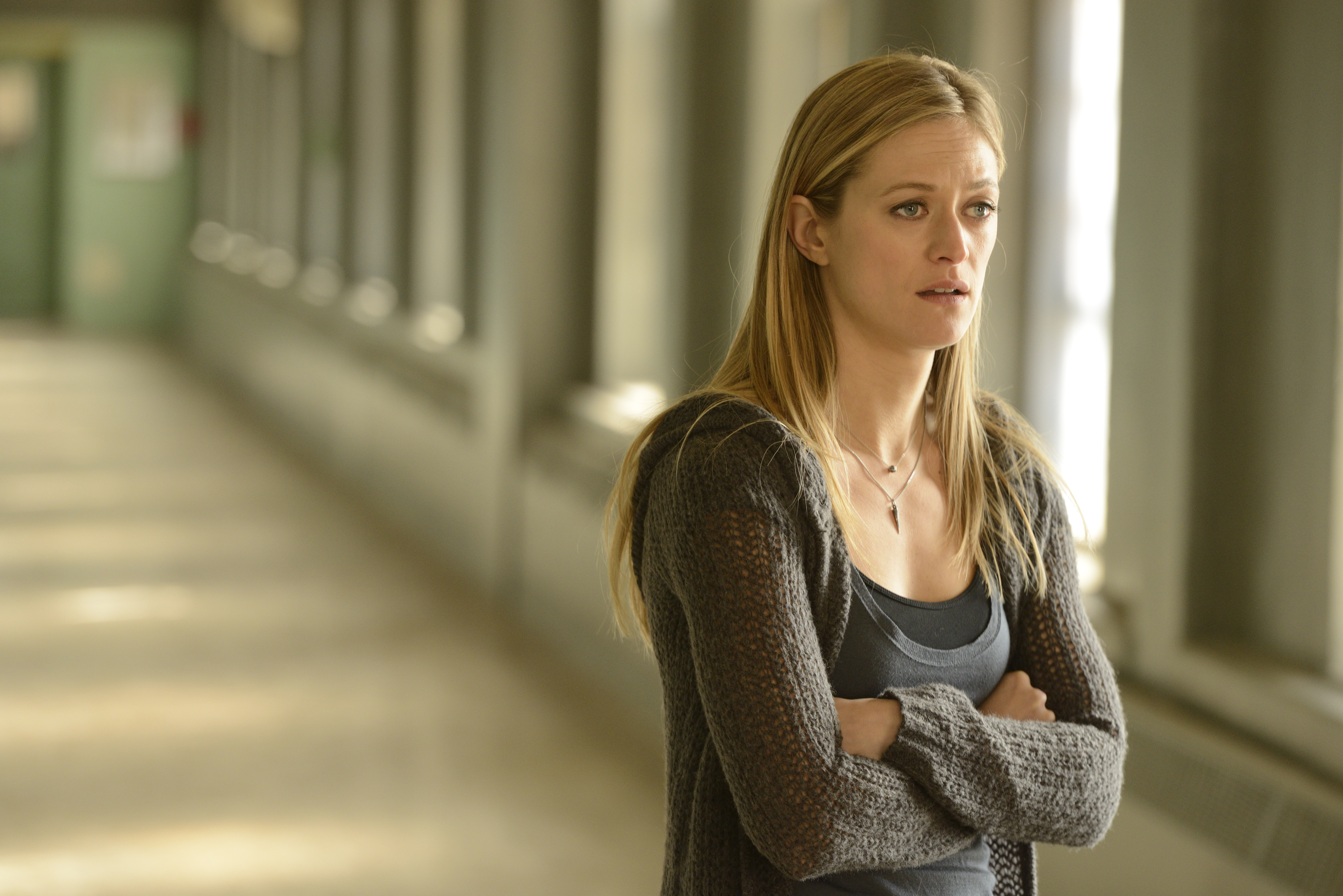 Marin Ireland in The Divide.