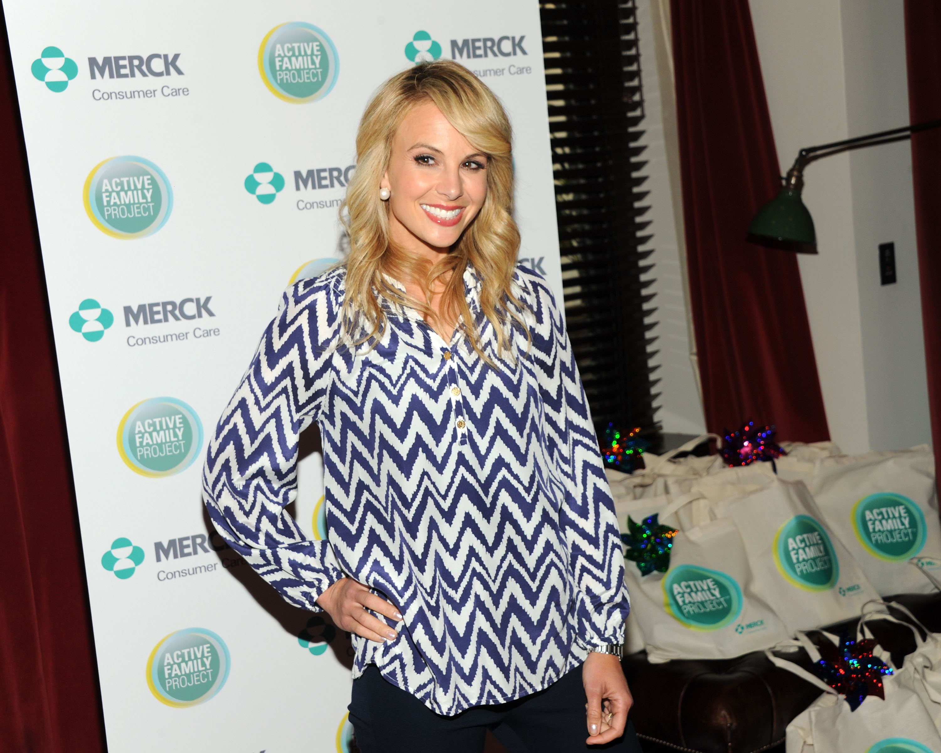 Emmy-winning co-host Elisabeth Hasselbeck attends Active Family Project Kick-Off Event at Gramercy Park Hotel Rooftop on May 6, 2013 in New York City.