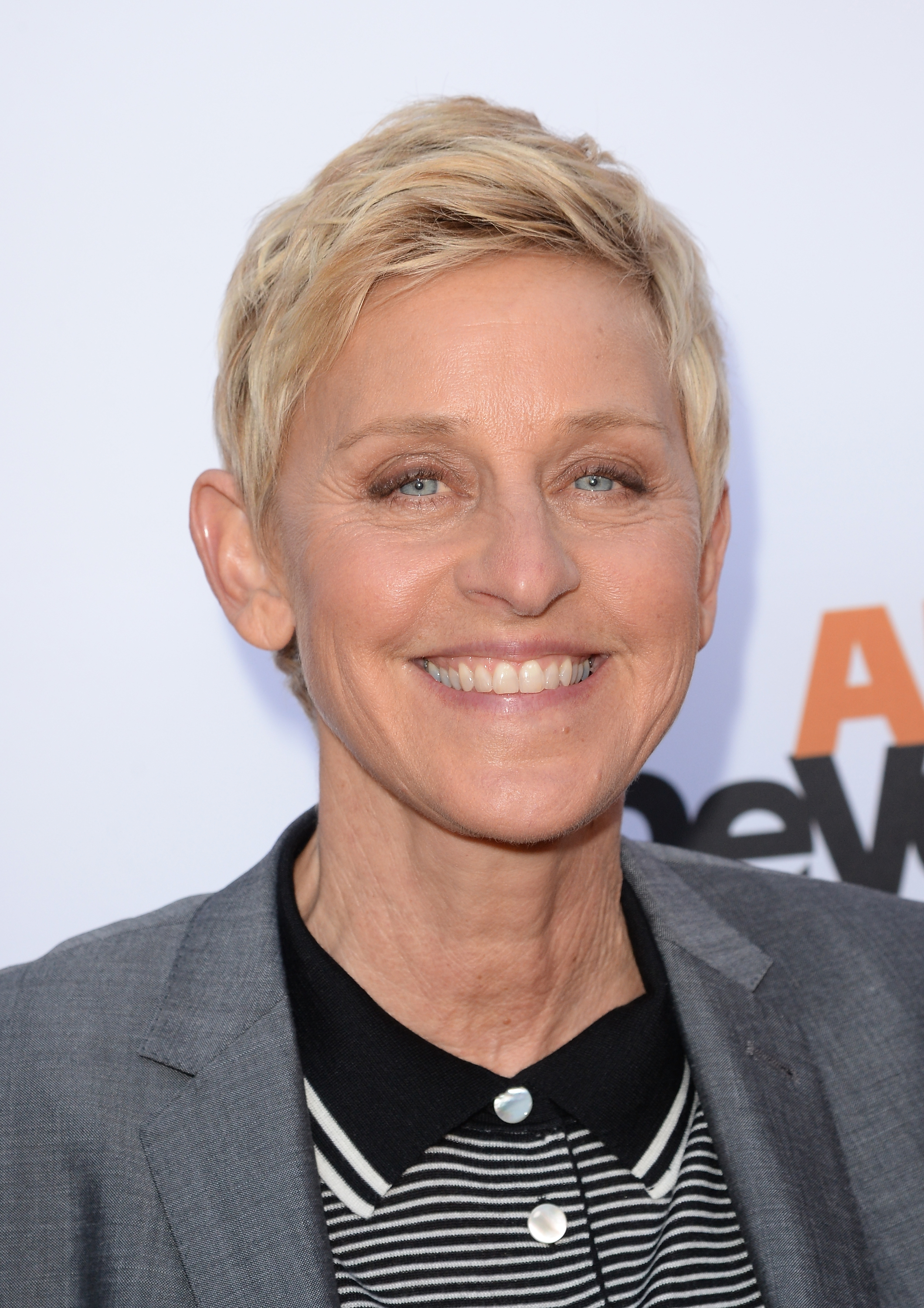 TV personality Ellen DeGeneres on April 29, 2013 in Hollywood, California.