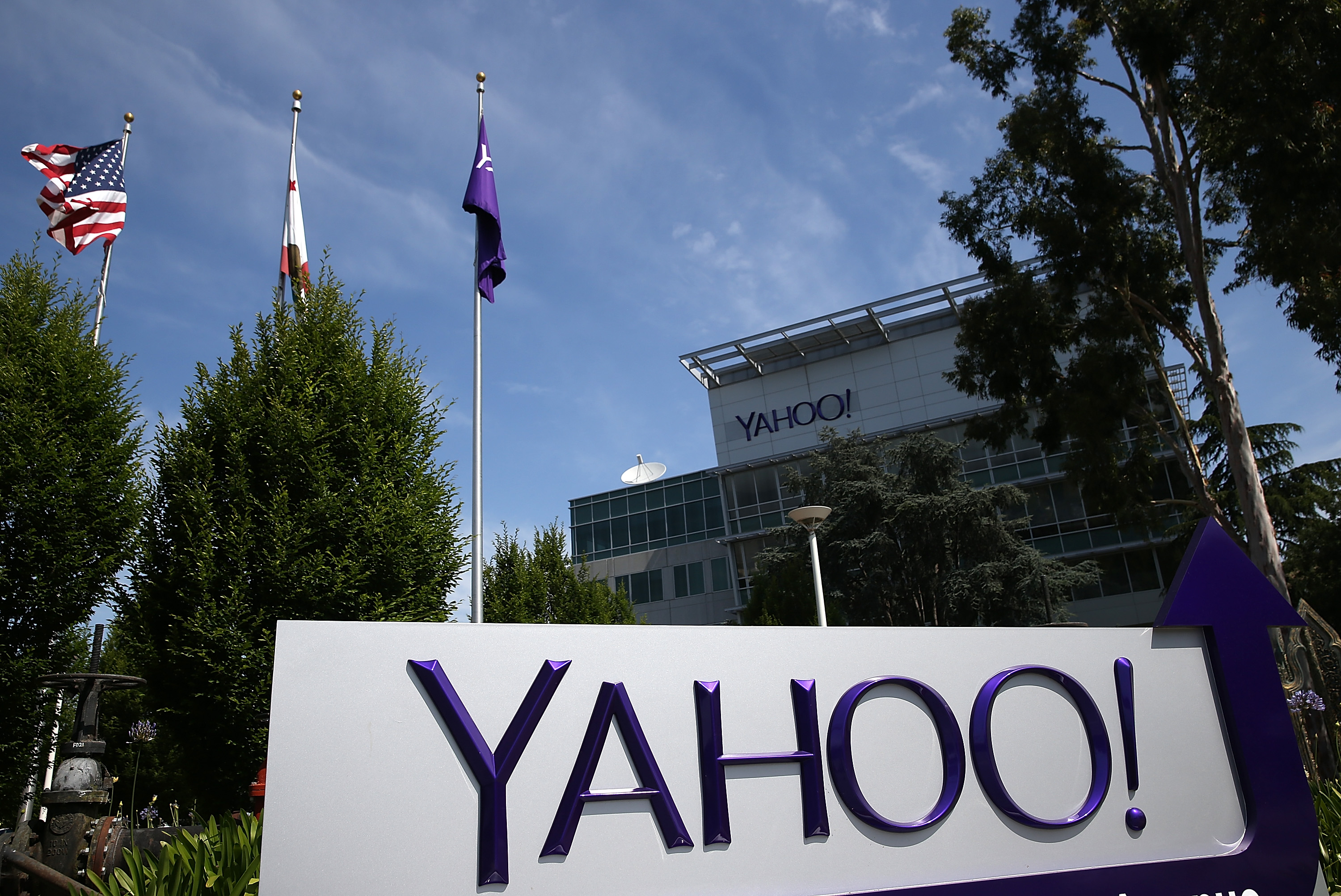 The Yahoo! headquarters in Sunnyvale, California, in May 2014.