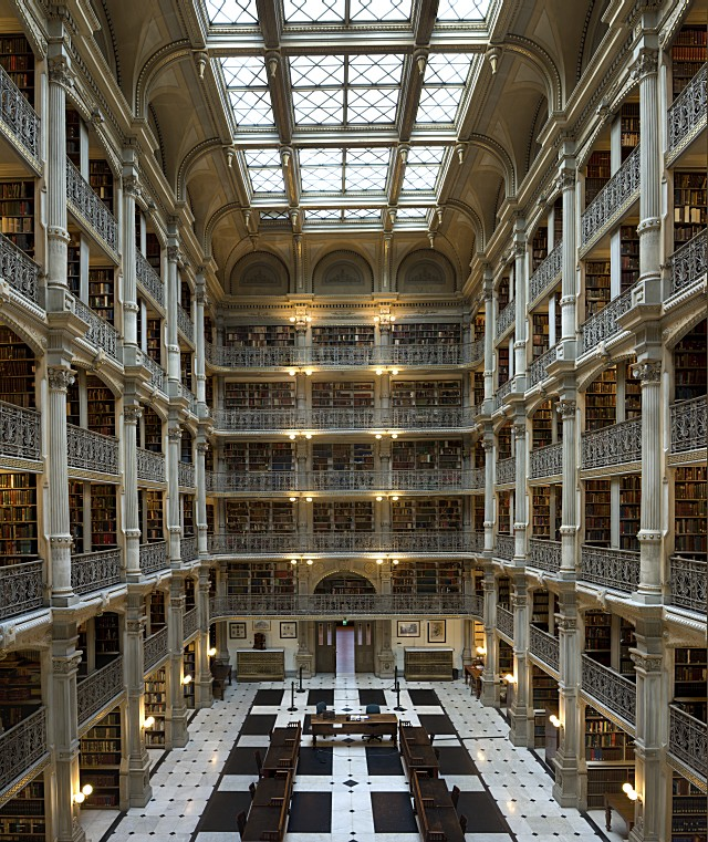 George Peabody Library, Johns Hopkins University, Baltimore