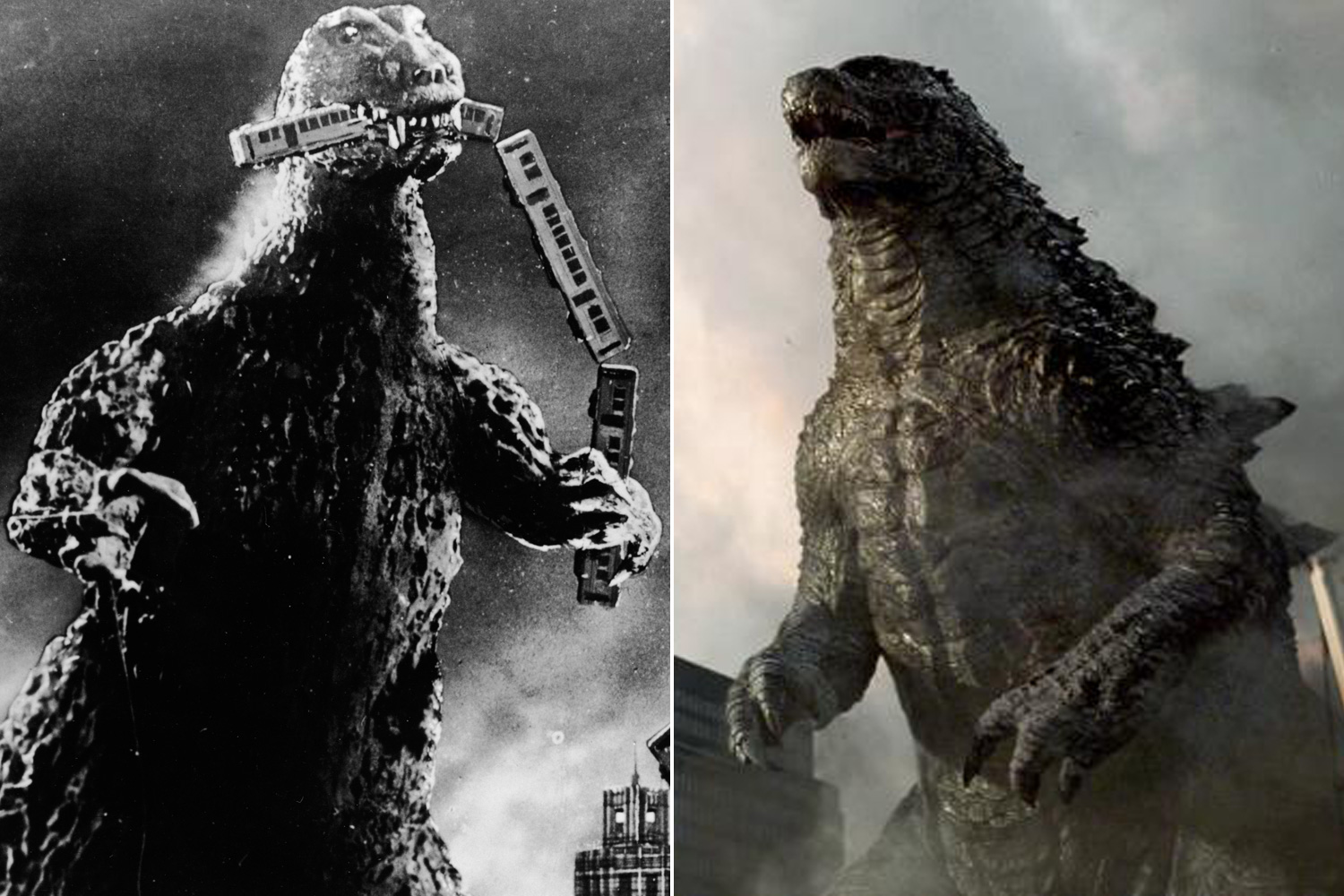 Godzilla, also known as Gojira, was originally produced by the Japanese studio Toho in its eponymous 1954 film. It was re-imagined in 1998 by director Roland Emmerich for American audiences, before being rebooted again in 2014 by Gareth Edwards.