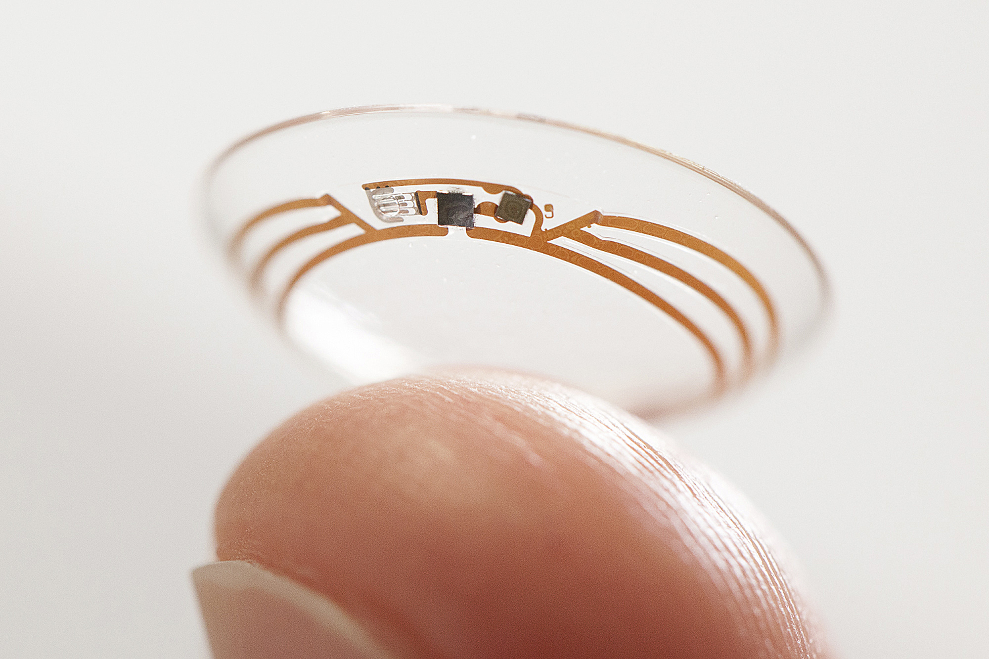 Google's smart contact lenses.