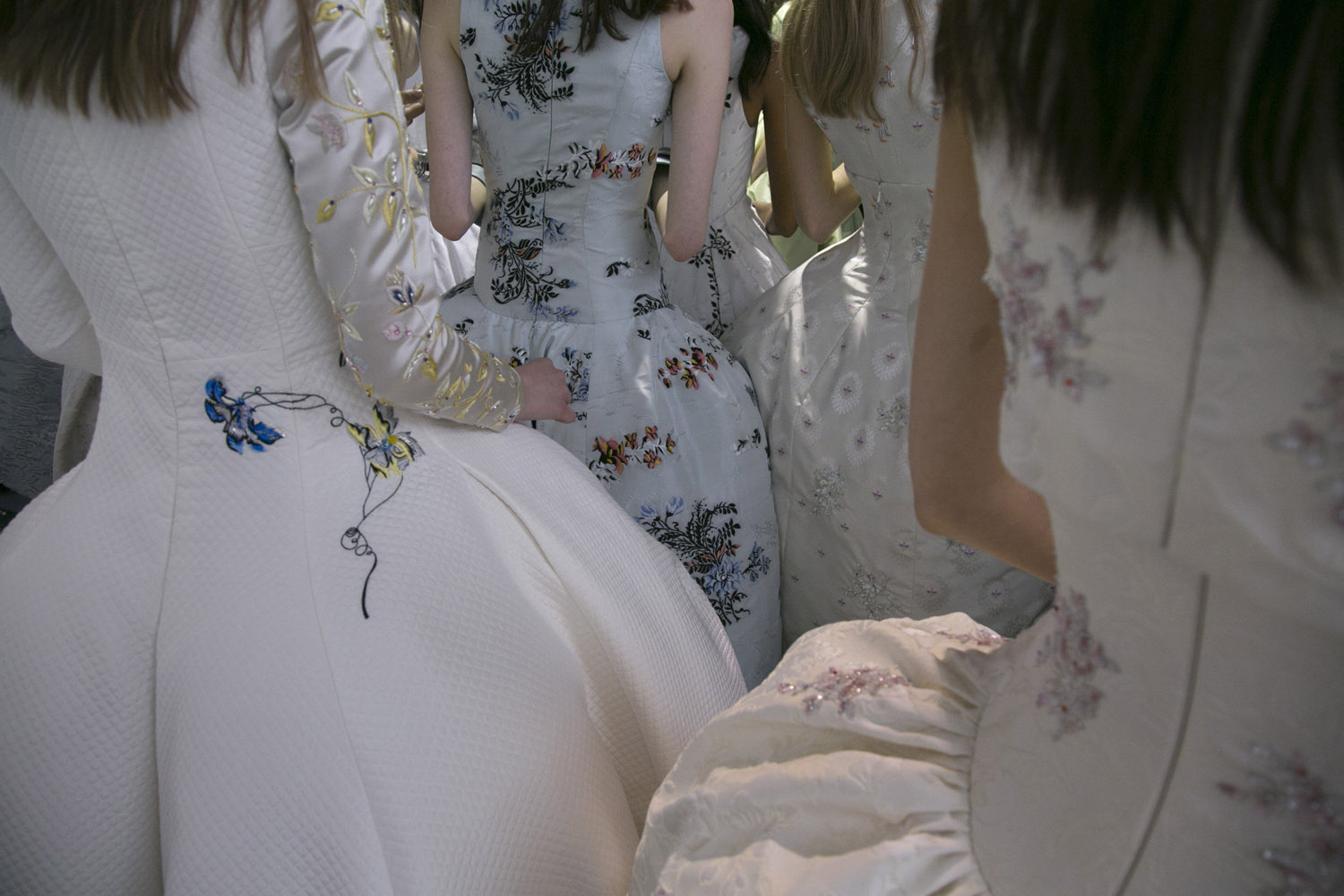 Jul. 7, 2014. Dresses at the Christian Dior Fashion Show in Paris. The Paris shows played out against a backdrop of almost palpable conflict, but the fashion houses were united in a push for modernity.