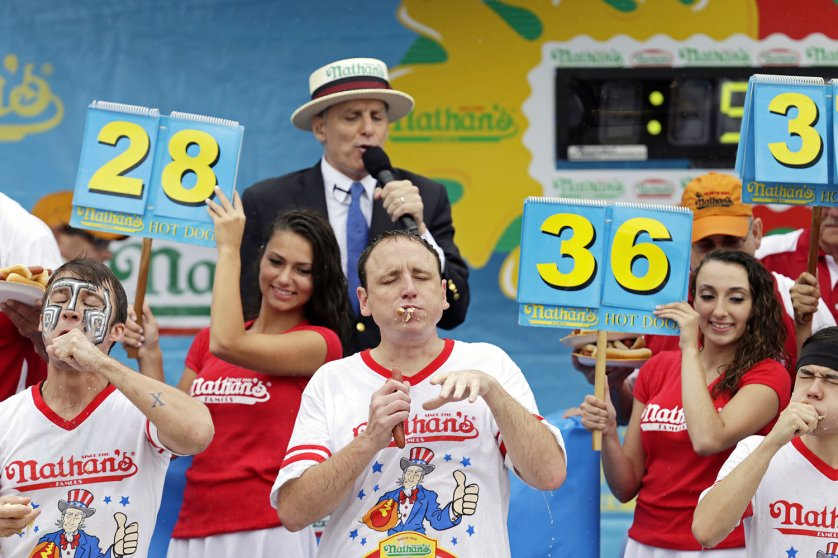 Nathan's Fourth of July Hot-Dog Eating Contest Coney Island