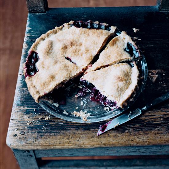 Marilyn Batali's Blackberry Pie