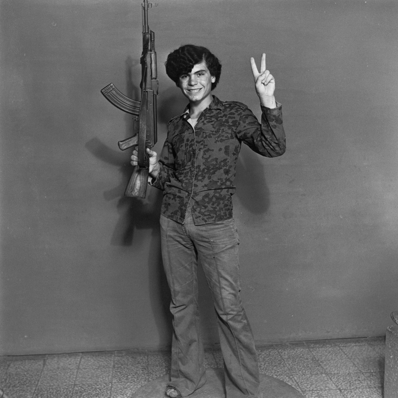 Akram Zaatari,  Hashem El Madani—Palestinian resistant.