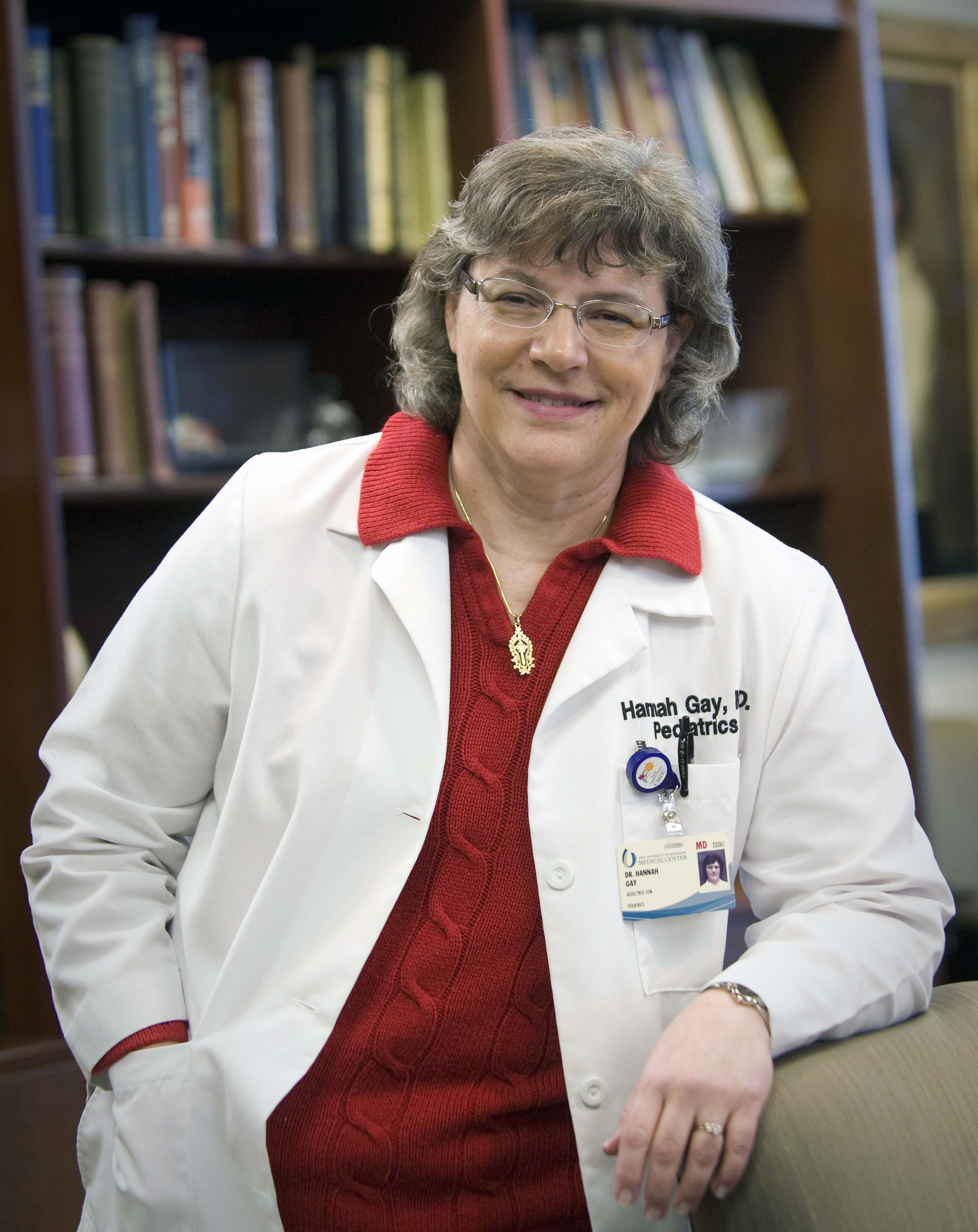 Dr. Hannah Gay, a pediatric HIV specialist at the University of Mississippi on March 3, 2013.