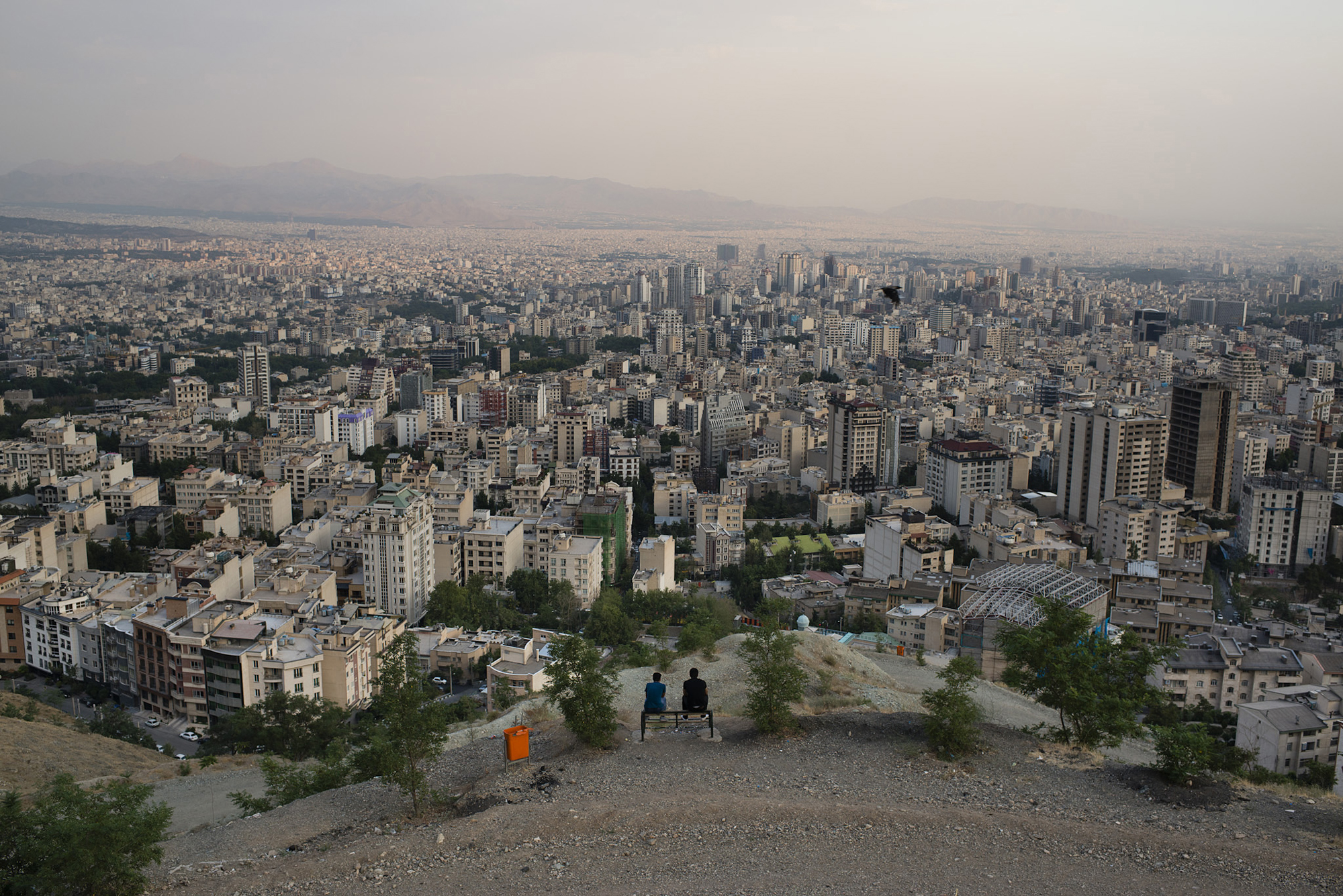 An overview of Tehran on July 7, 2014