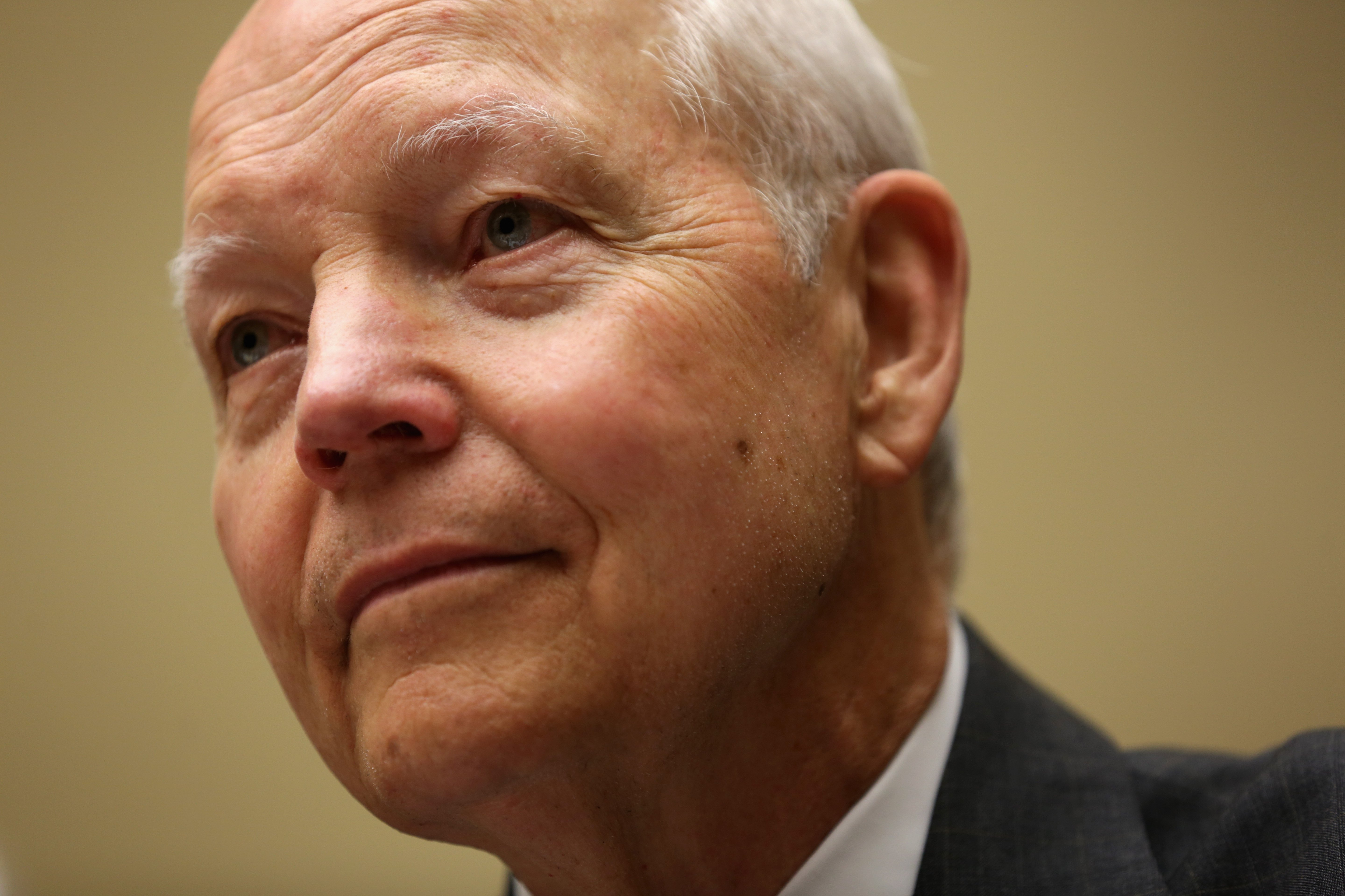 Internal Revenue Service Commissioner John Koskinen testifies during a hearing before the Government Operations Subcommittee of the House Oversight and Government Reform Committee July 9, 2014 on Capitol Hill in Washington, D.C.