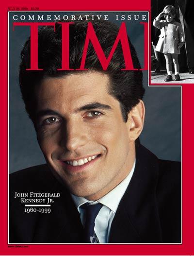 JFK Jr. TIME Cover