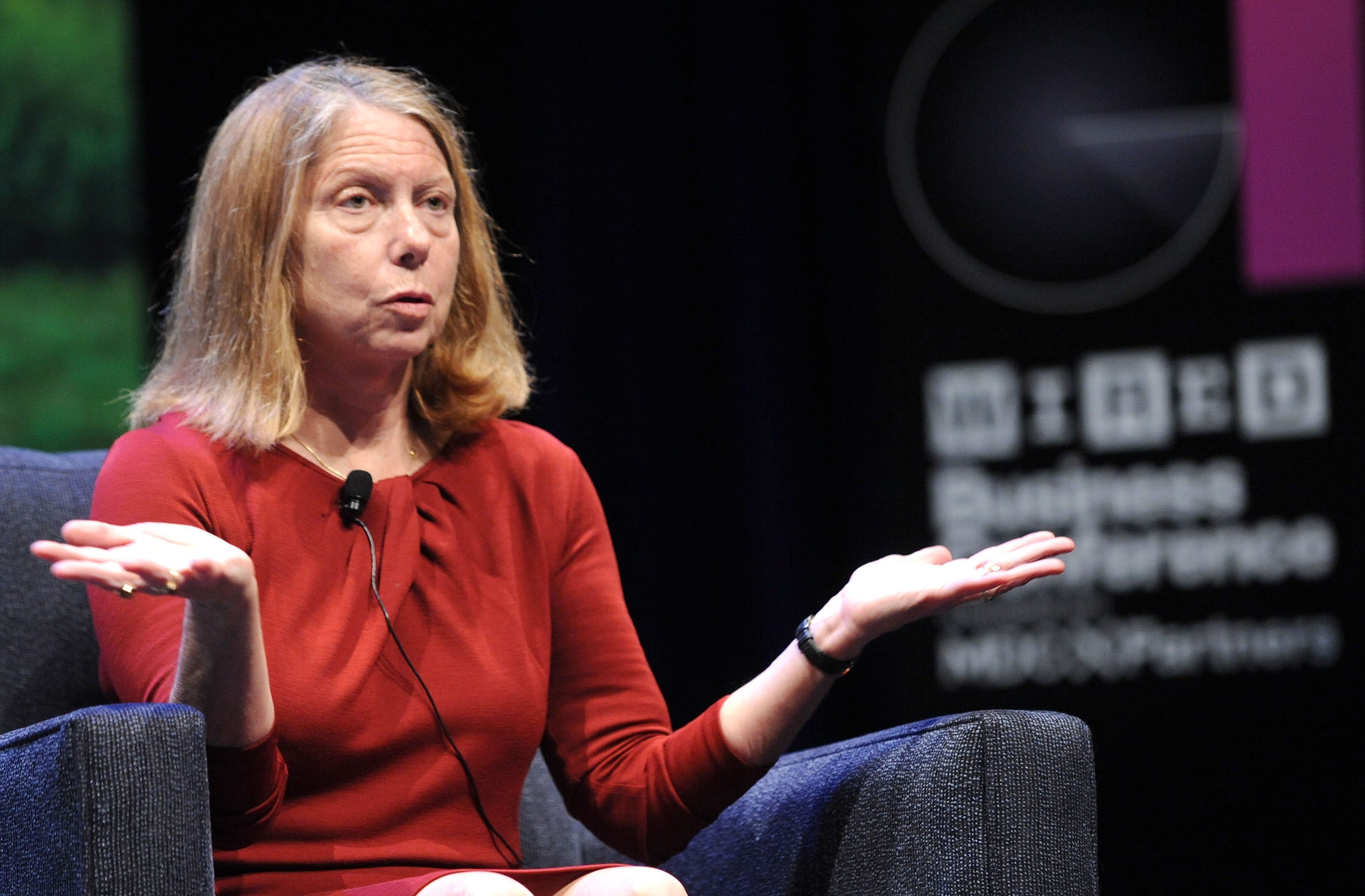 Executive Editor of The New York Times Jill Abramson attends the WIRED Business Conference: Think Bigger at Museum of Jewish Heritage on May 7, 2013 in New York City.
