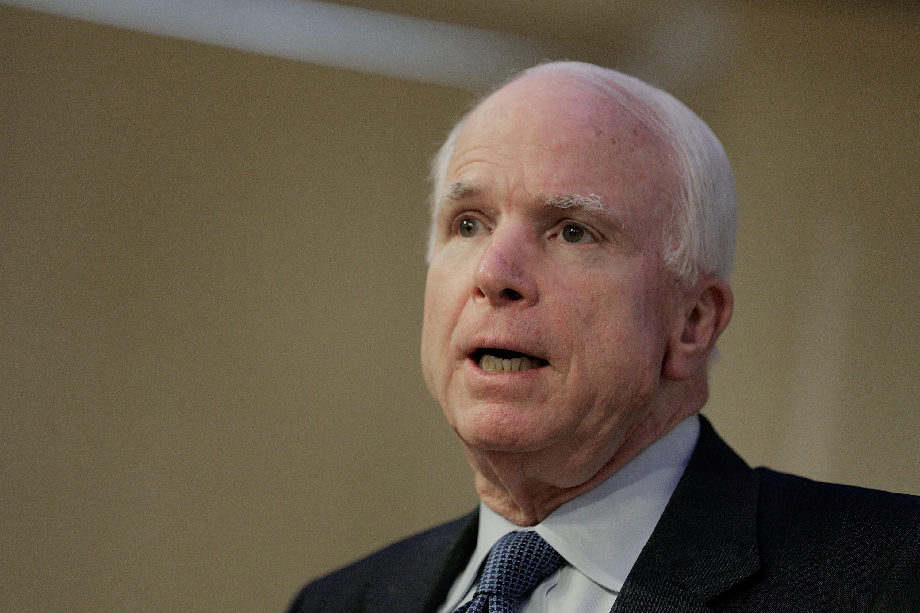 Sen. John McCain in Washington on June 18, 2014.