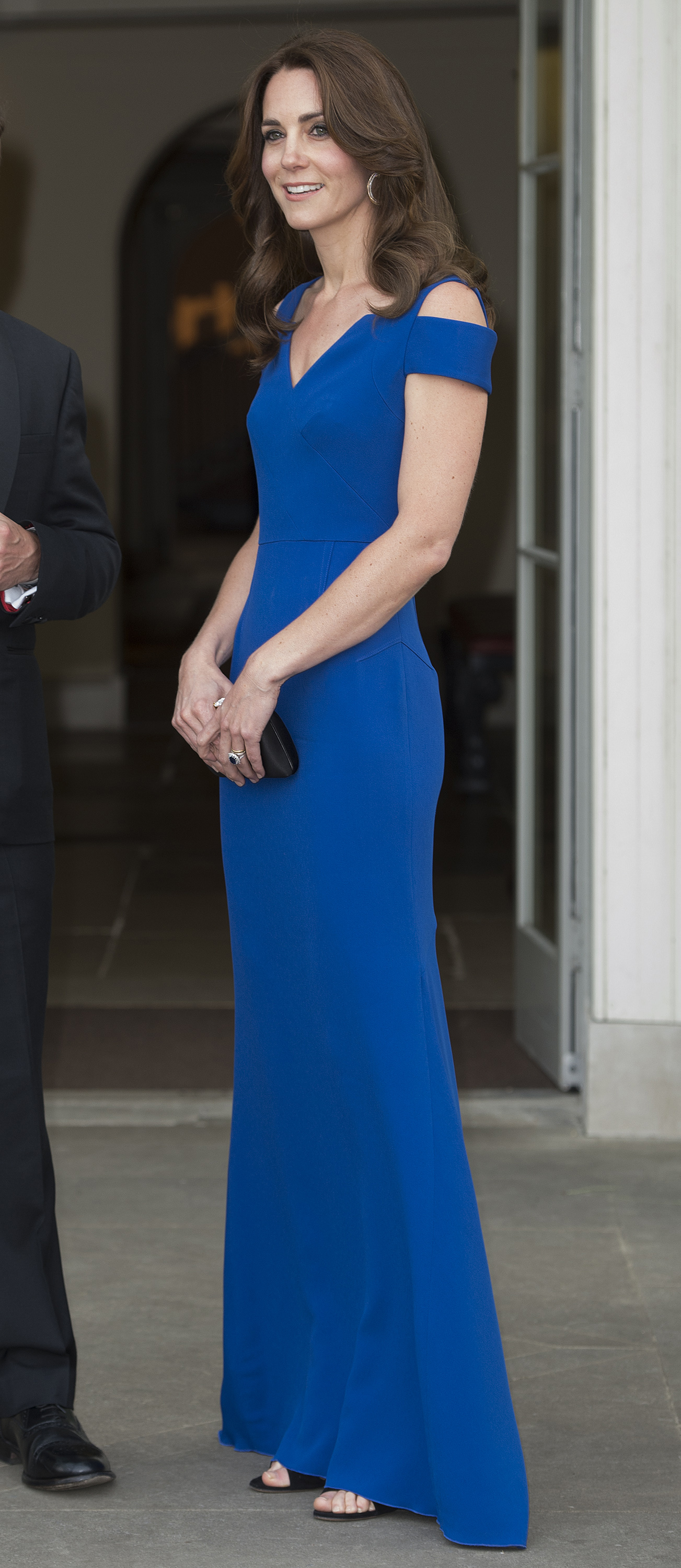 Catherine, Duchess of Cambridge attends SportsAid's 40th anniversary dinner in London on June 9, 2016.