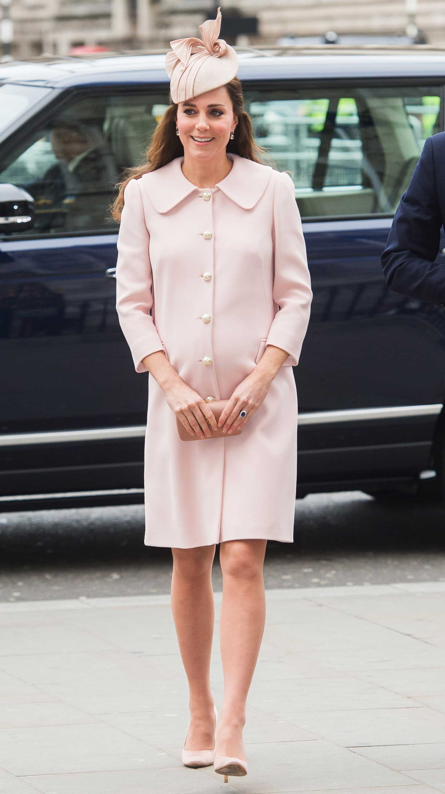 Catherine Duchess of Cambridge attends the Commonwealth Service at Westminster Abbey on March 9, 2015 in London.