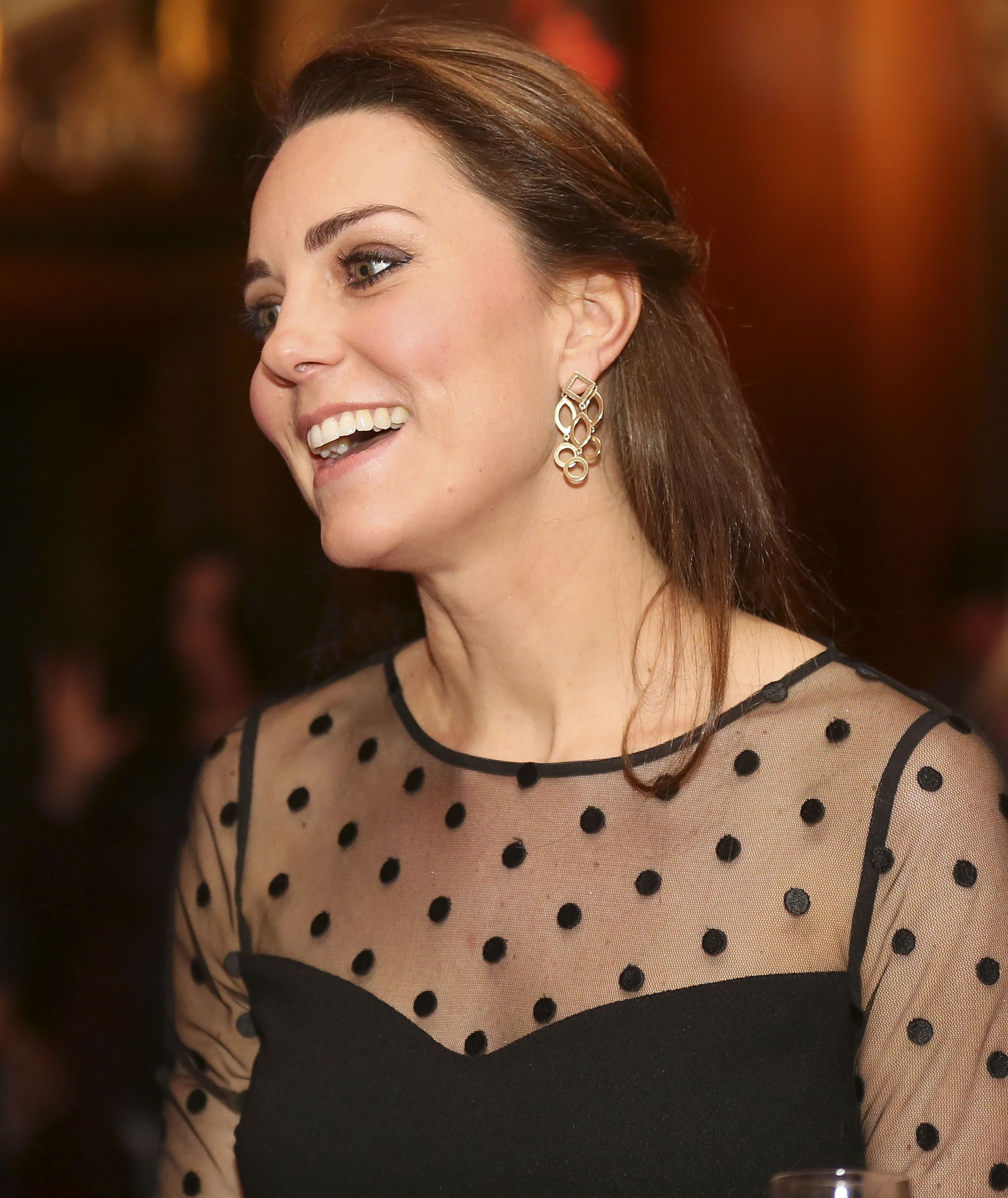 Catherine, Duchess of Cambridge attends the Place2be Wellbeing in Schools Award at Kensington Palace, in London on Nov. 19 2014.